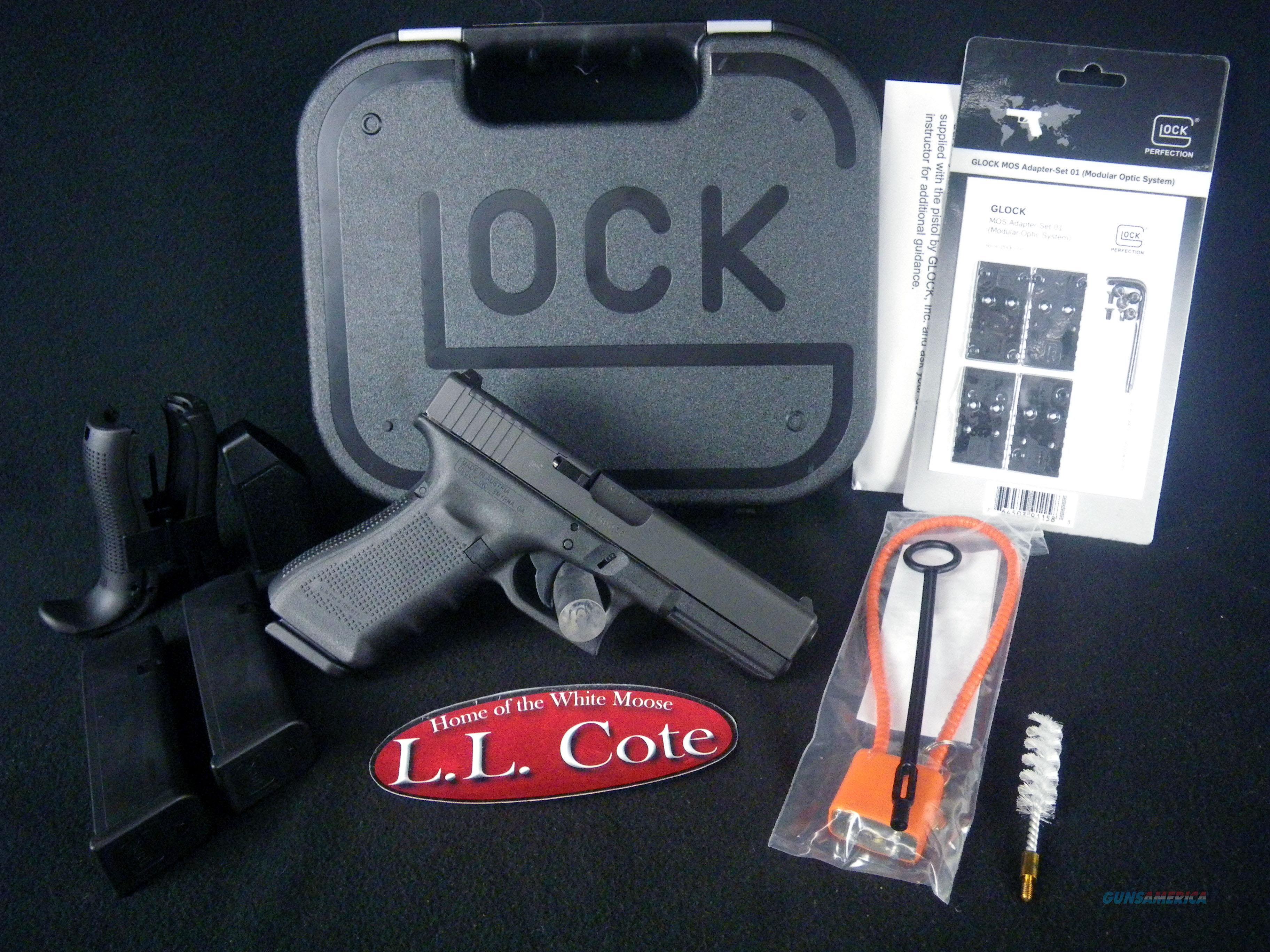 """Glock 17 Gen4 MOS 9mm 4.49"""" NEW PG1750203MOS  Guns > Pistols > Glock Pistols > 17"""