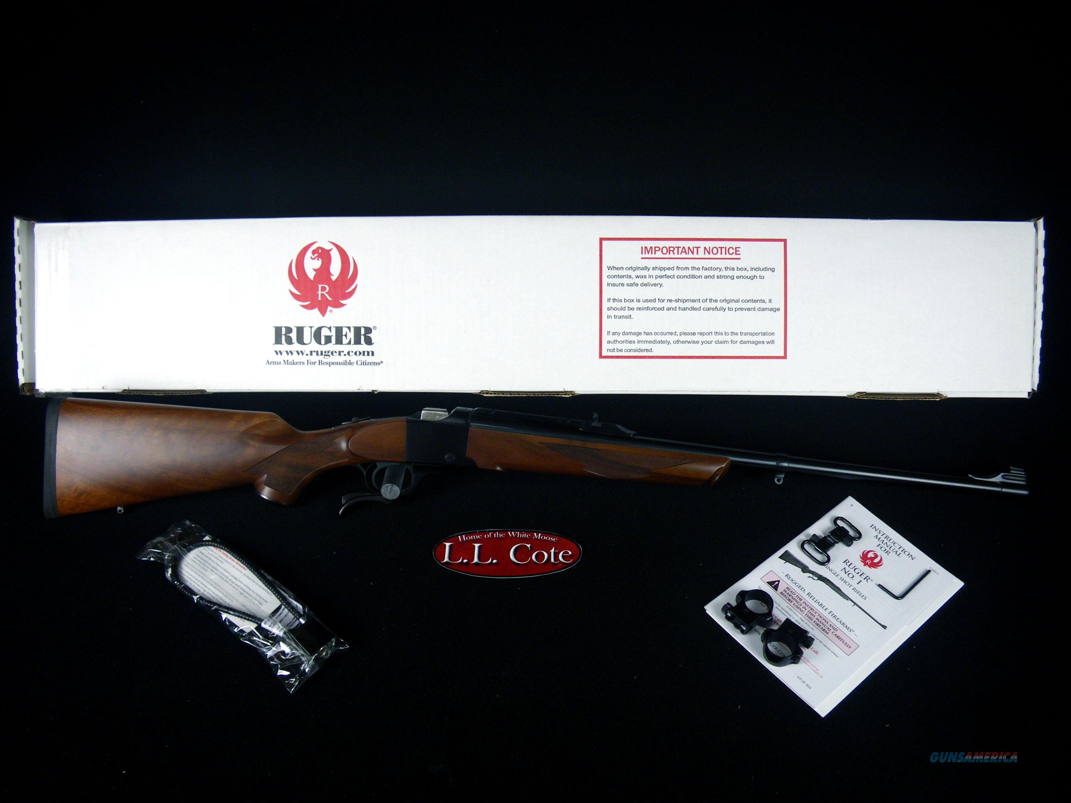 "Ruger No.1 35 Whelen 24"" Blued/Walnut NEW 21302  Guns > Rifles > Ruger Rifles > #1 Type"