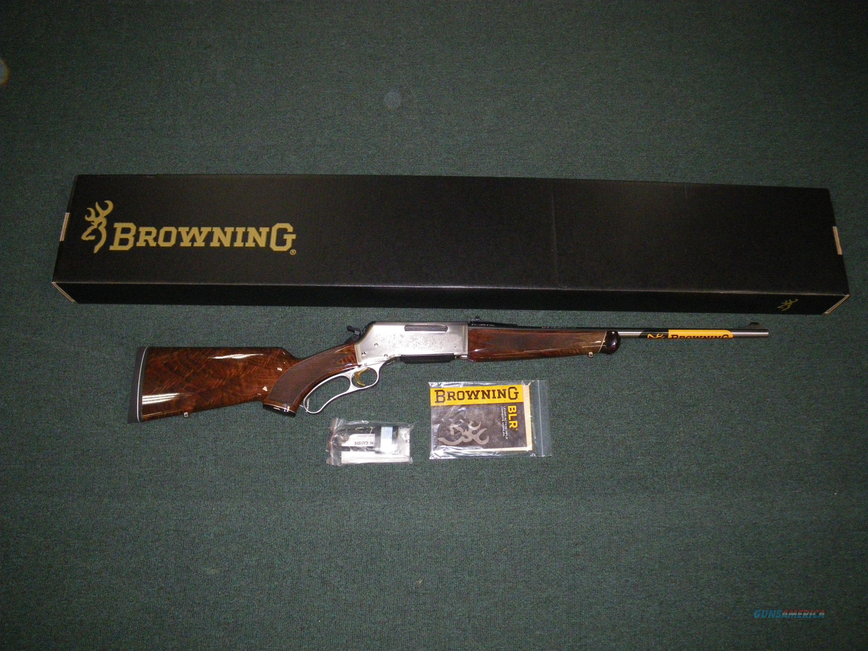 "Browning BLR White Gold Medallion 308 Win 20"" NEW! #034017118  Guns > Rifles > Browning Rifles > Lever Action"