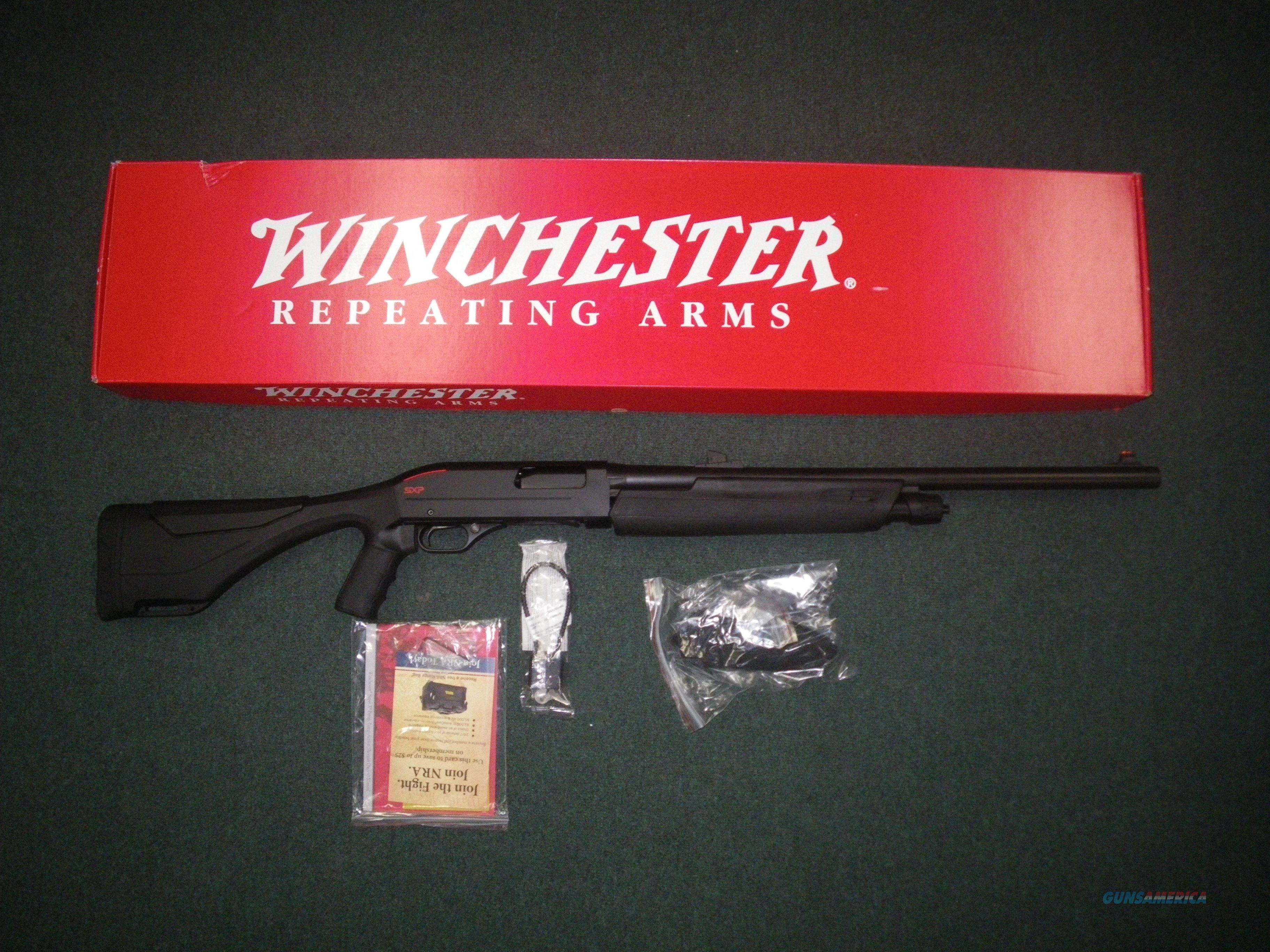 """Winchester SXP Extreme Deer 12ga 22"""" NEW 3"""" Chamber 512312340  Guns > Shotguns > Winchester Shotguns - Modern > Pump Action > Deer Guns"""