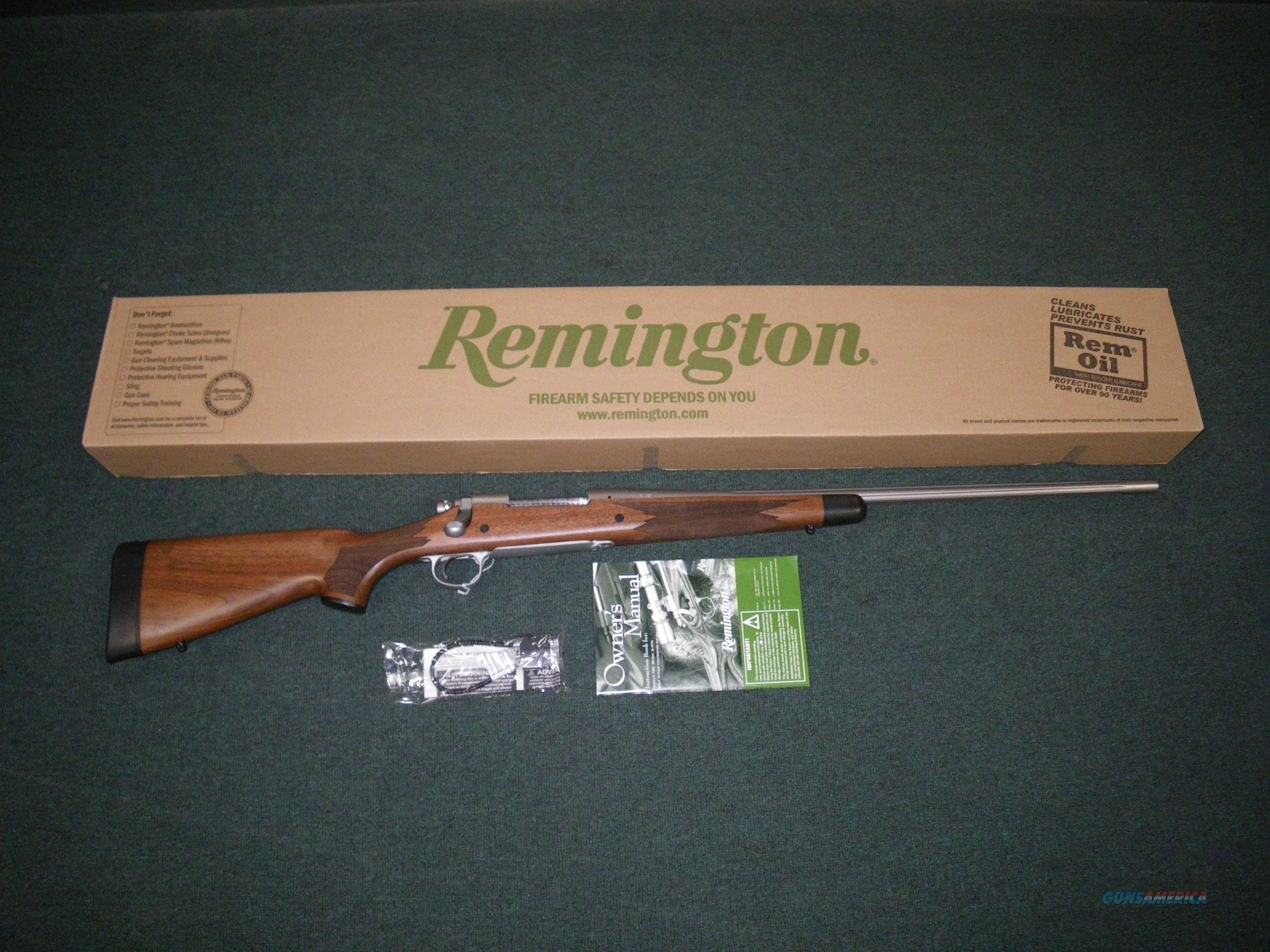 "Remington Model 700 CDL Stainless 7mm-08 Rem 24"" NEW #84012  Guns > Rifles > Remington Rifles - Modern > Model 700 > Sporting"