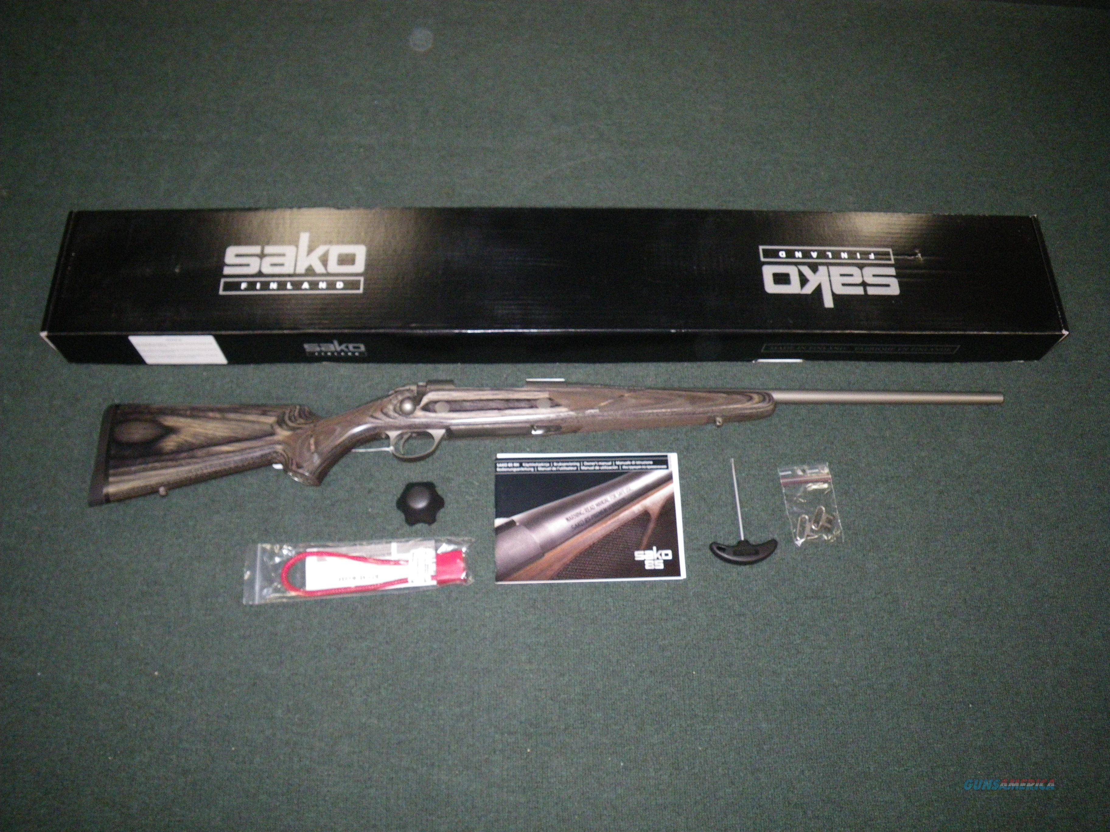 """Sako 85 Greywolf 30-06 22"""" Stainless NEW #JRS2C20  Guns > Rifles > Sako Rifles > M85 Series"""