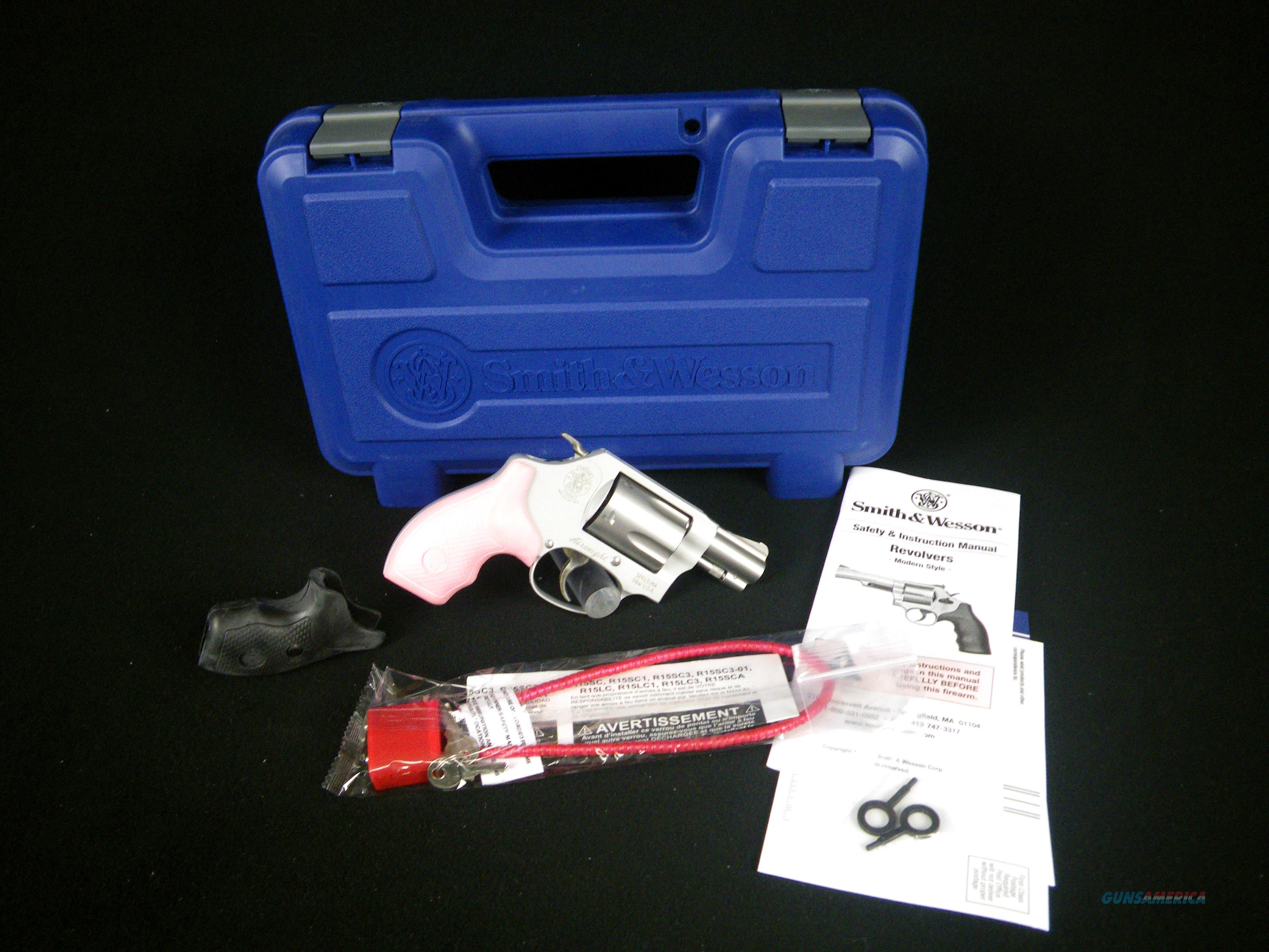 Smith & Wesson Model 637 Revolver Pink 38S&W NEW 150467  Guns > Pistols > Savage Pistols