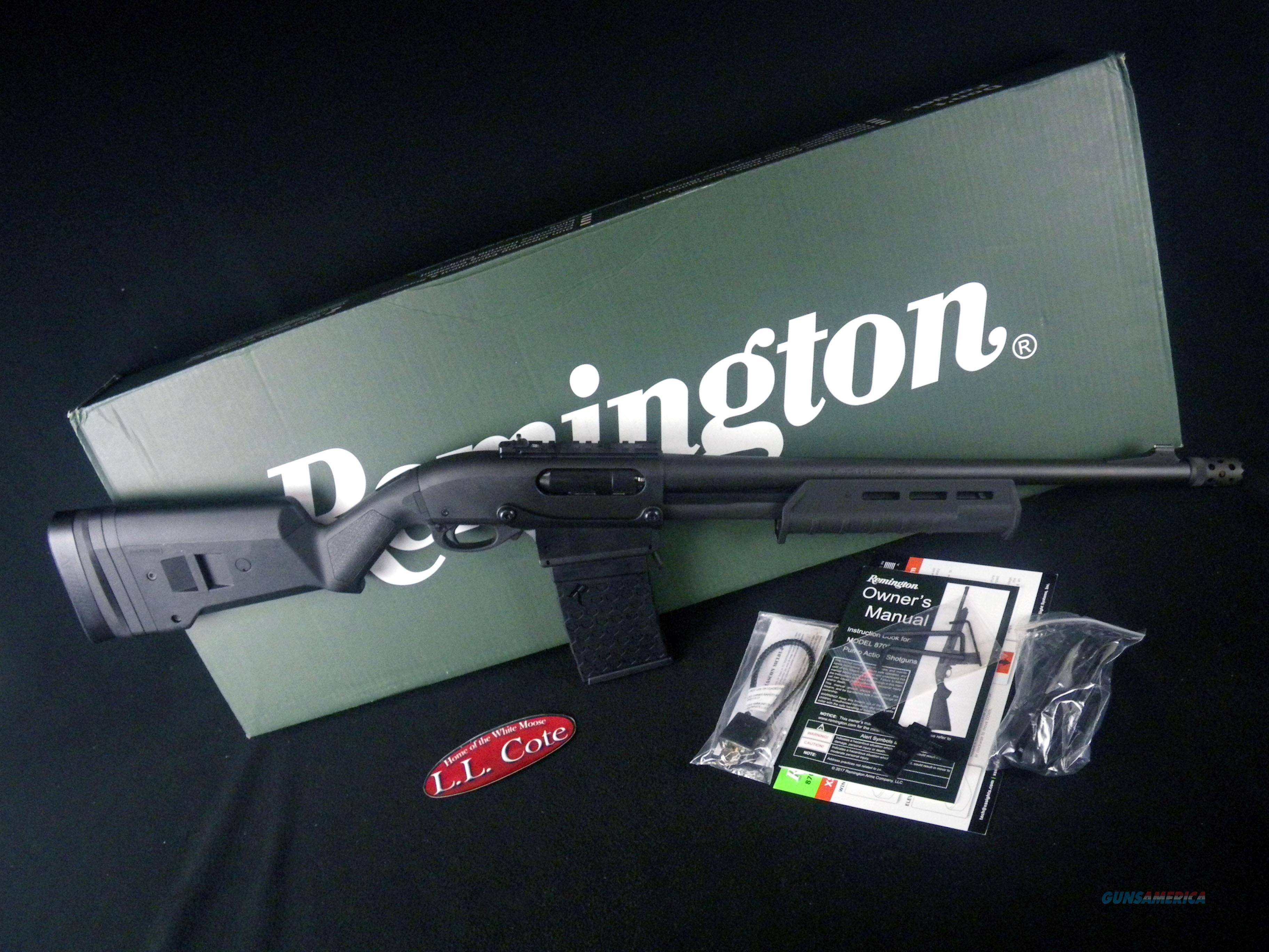 "Remington 870 DM Magpul 12ga 18.5"" NEW 81352  Guns > Shotguns > Remington Shotguns  > Pump > Hunting"