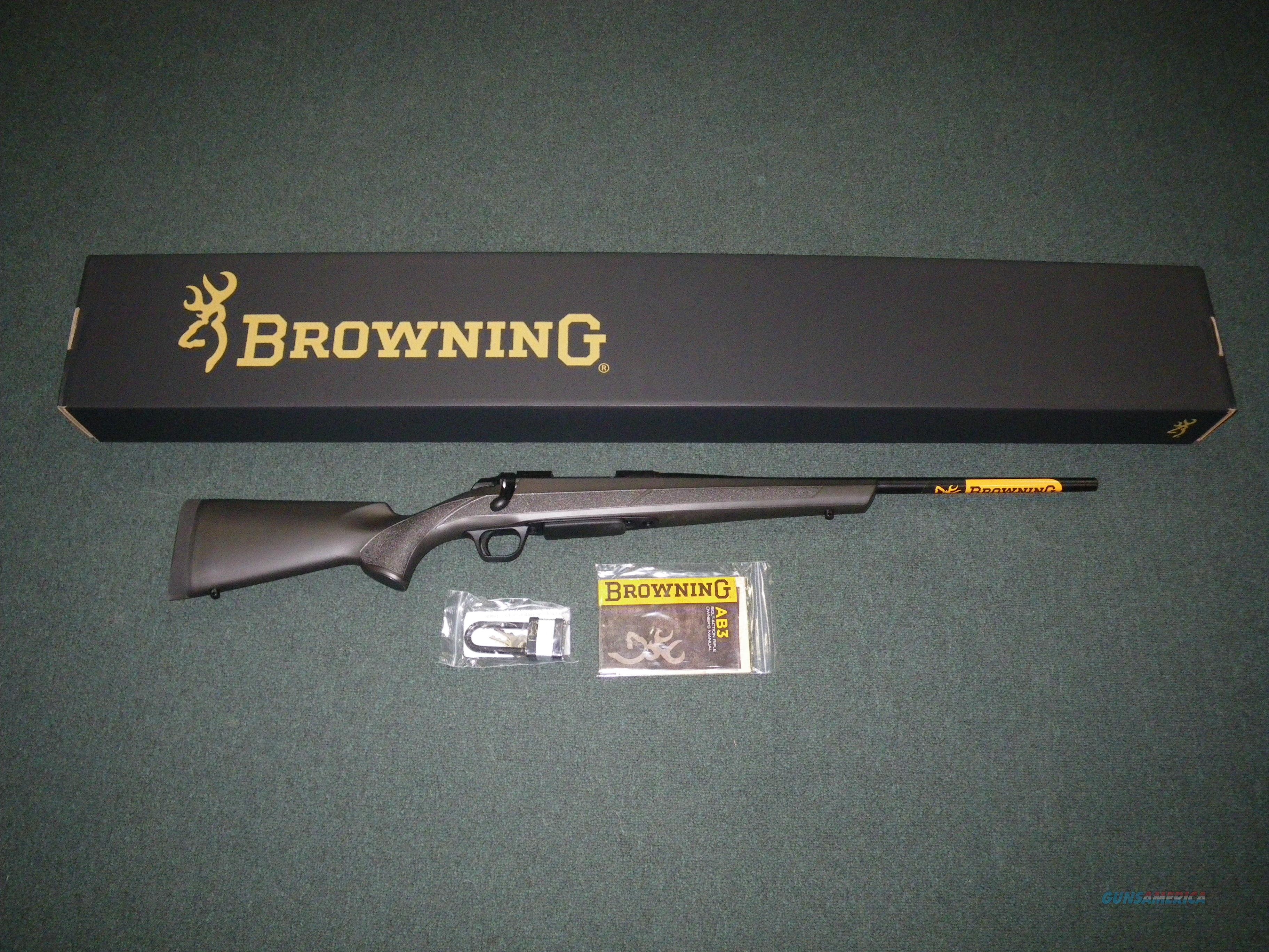 "Browning A-Bolt AB3 Micro Stalker 308 Win 20"" NEW #035808218  Guns > Rifles > Browning Rifles > Bolt Action > Hunting > Blue"