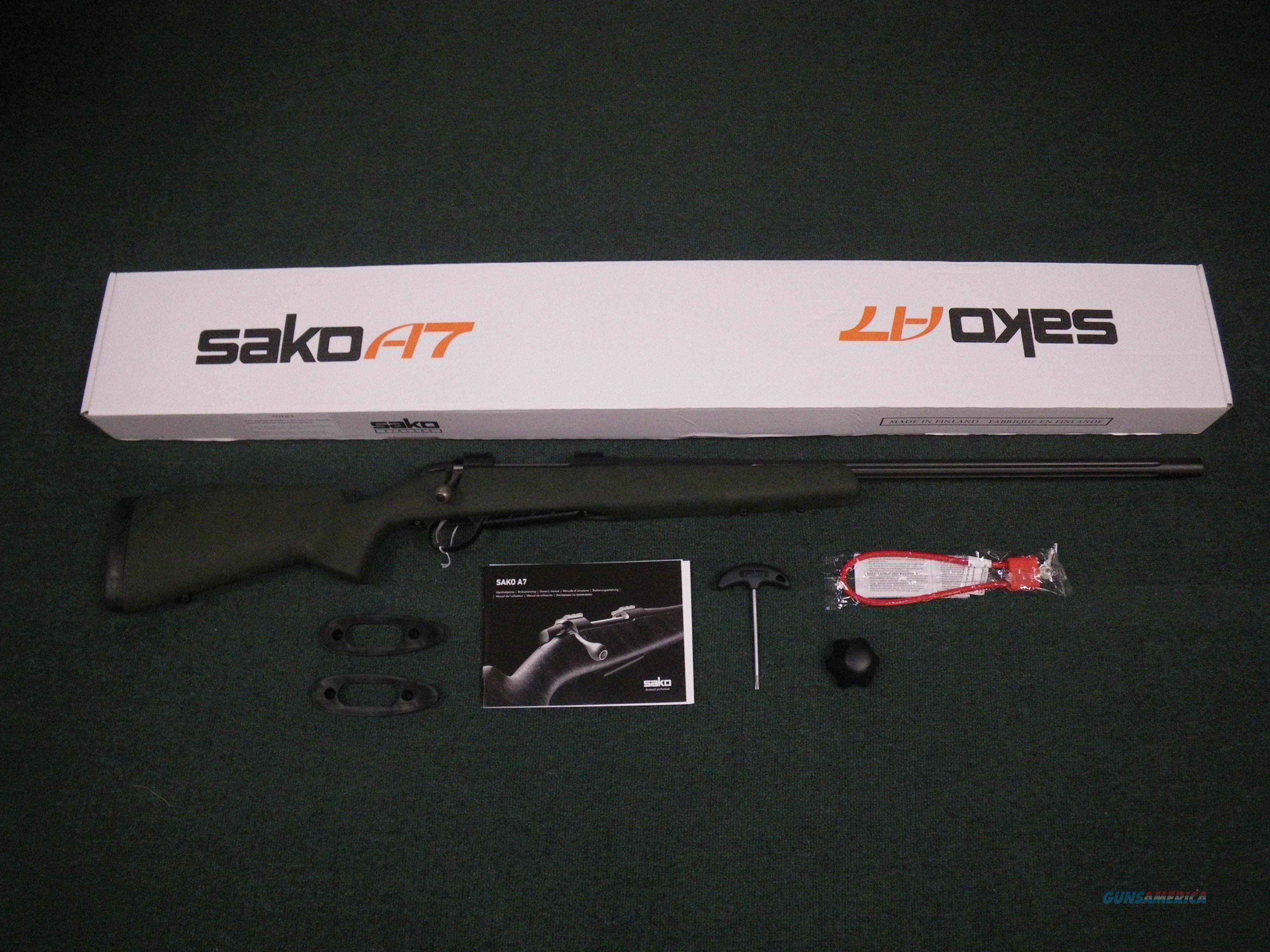 """Sako A7 Roughtech Range 7mm Rem Mag 26"""" Fluted NEW #JRMLR70F  Guns > Rifles > Sako Rifles > A7 Series"""
