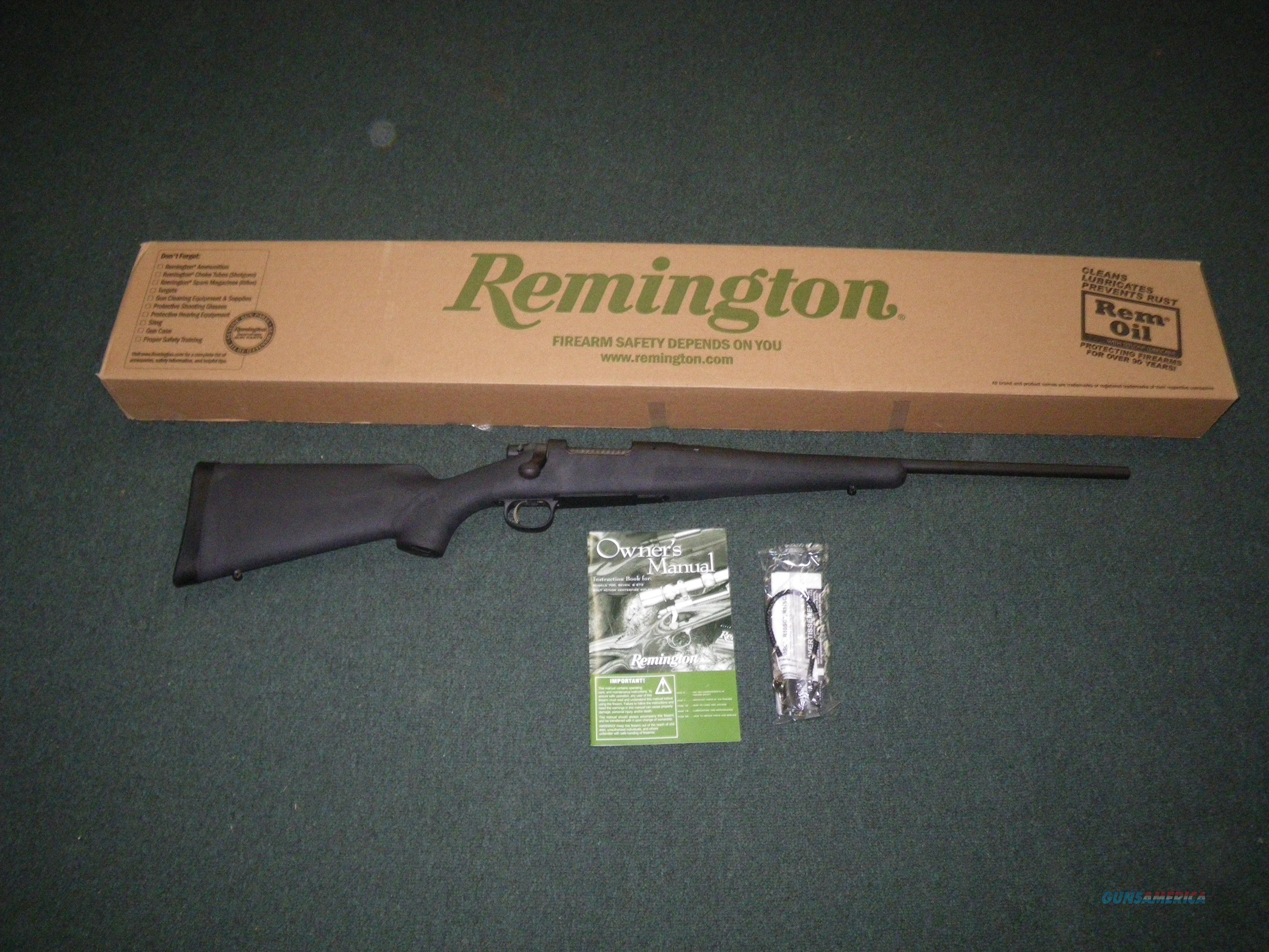 "Remington Model Seven Synthetic 308 Win 20"" NEW #85914  Guns > Rifles > Remington Rifles - Modern > Bolt Action Non-Model 700 > Sporting"