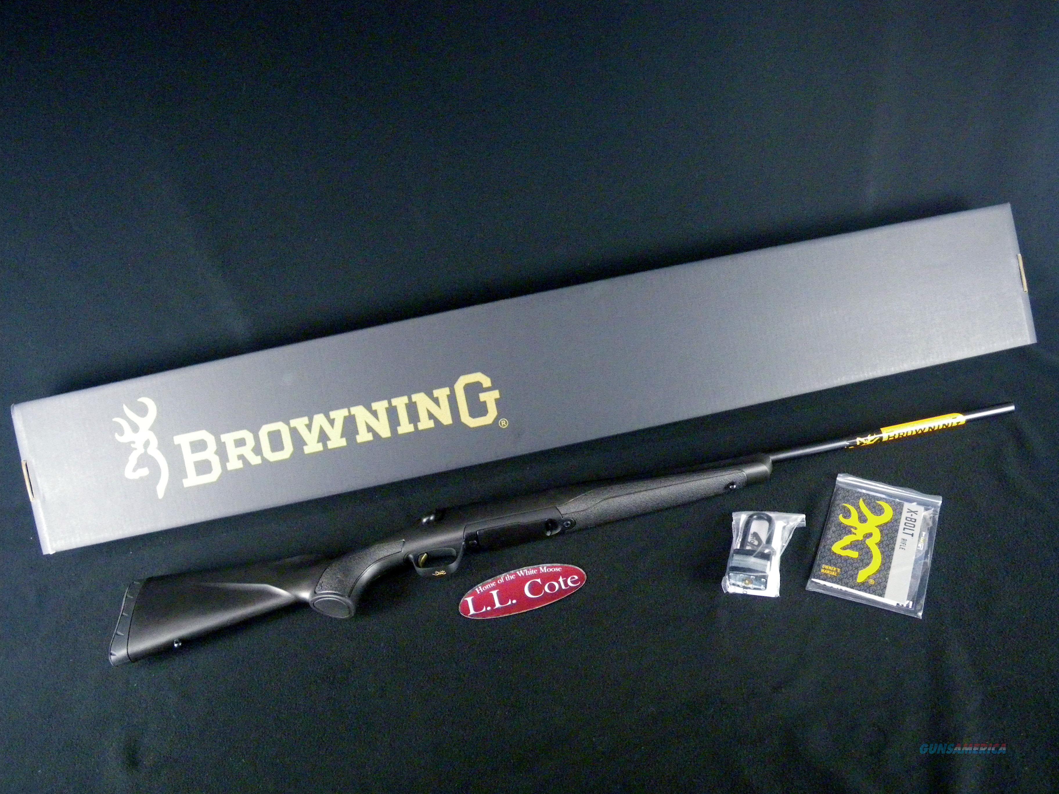 """Browning X-Bolt Composite Stalker 280 Rem 22"""" NEW 035496225  Guns > Rifles > Browning Rifles > Bolt Action > Hunting > Blue"""