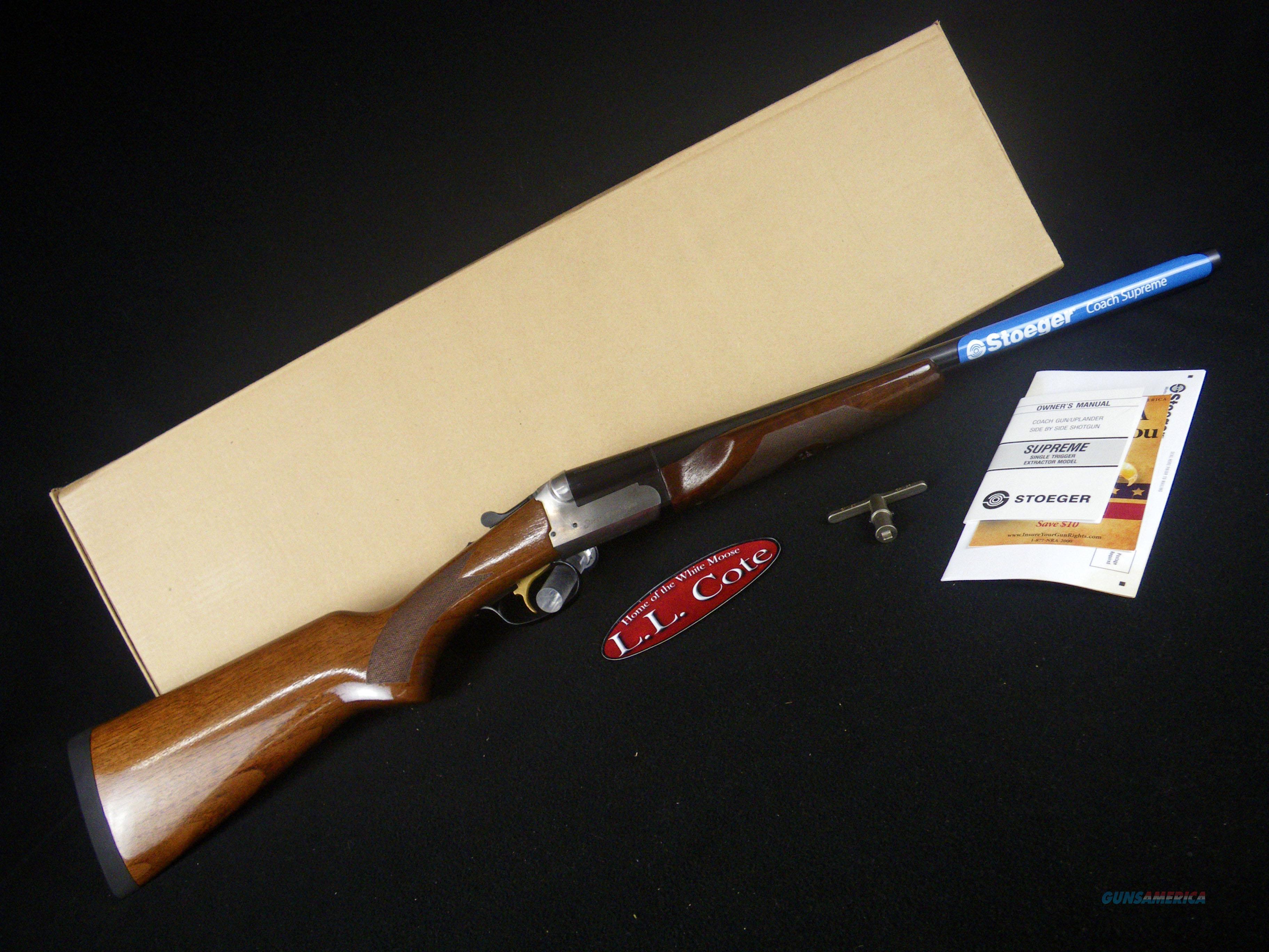 """Stoeger Coach Gun Supreme 12ga 20"""" NEW 3"""" 31463  Guns > Shotguns > Stoeger Shotguns"""