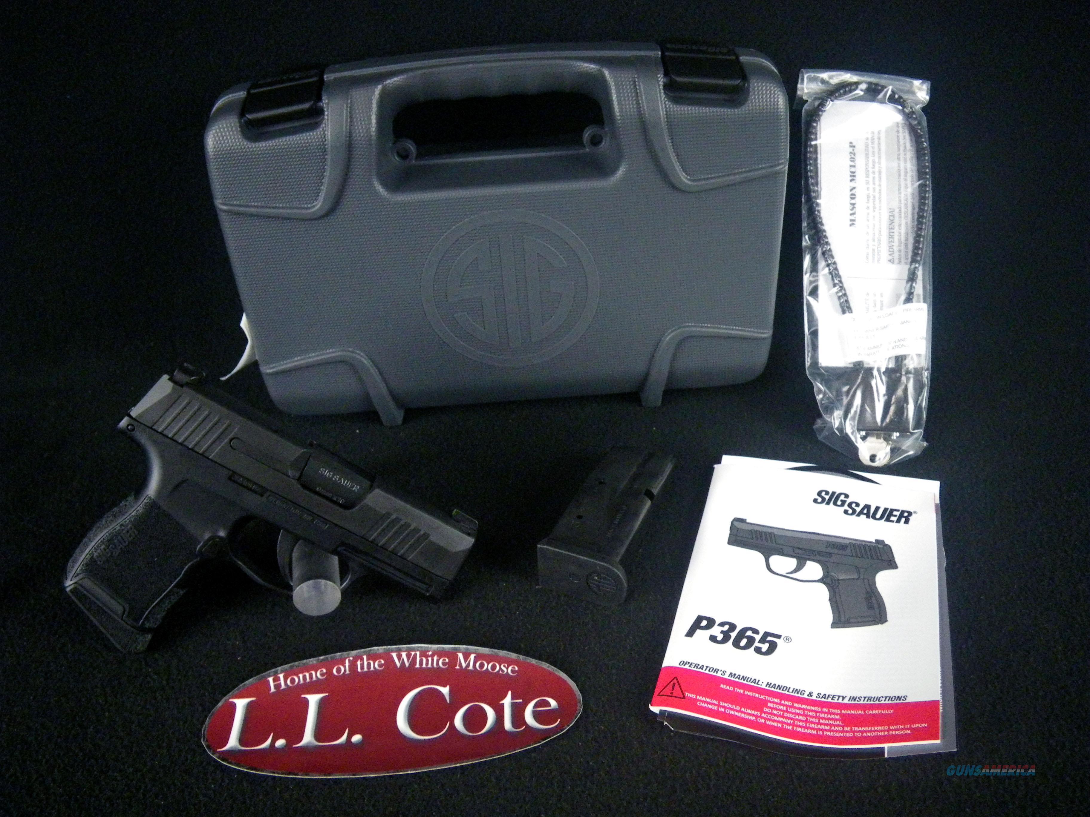 "Sig Sauer P365 Nitron Micro-Compact 9mm 3.1"" NEW 365-9-BXR3  Guns > Pistols > Sig - Sauer/Sigarms Pistols > P365"