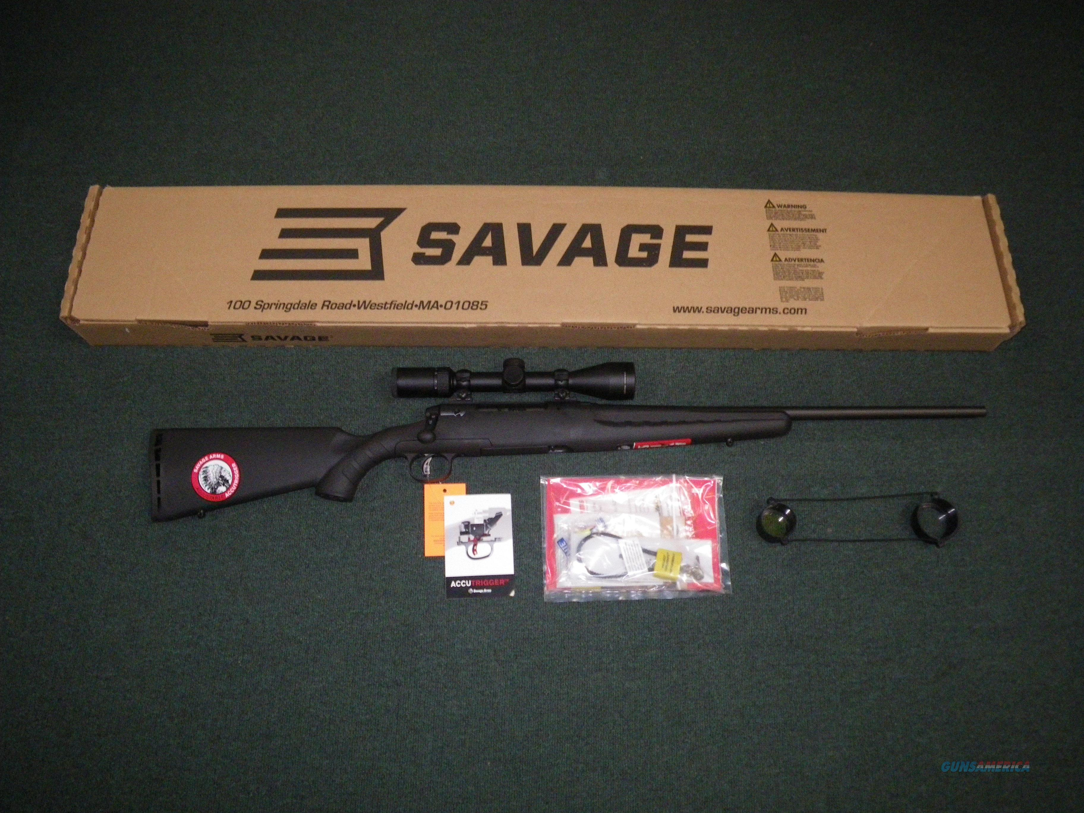 "Savage Axis II XP Scoped 7mm-08 Rem 22"" NEW 22224  Guns > Rifles > Savage Rifles > Axis"