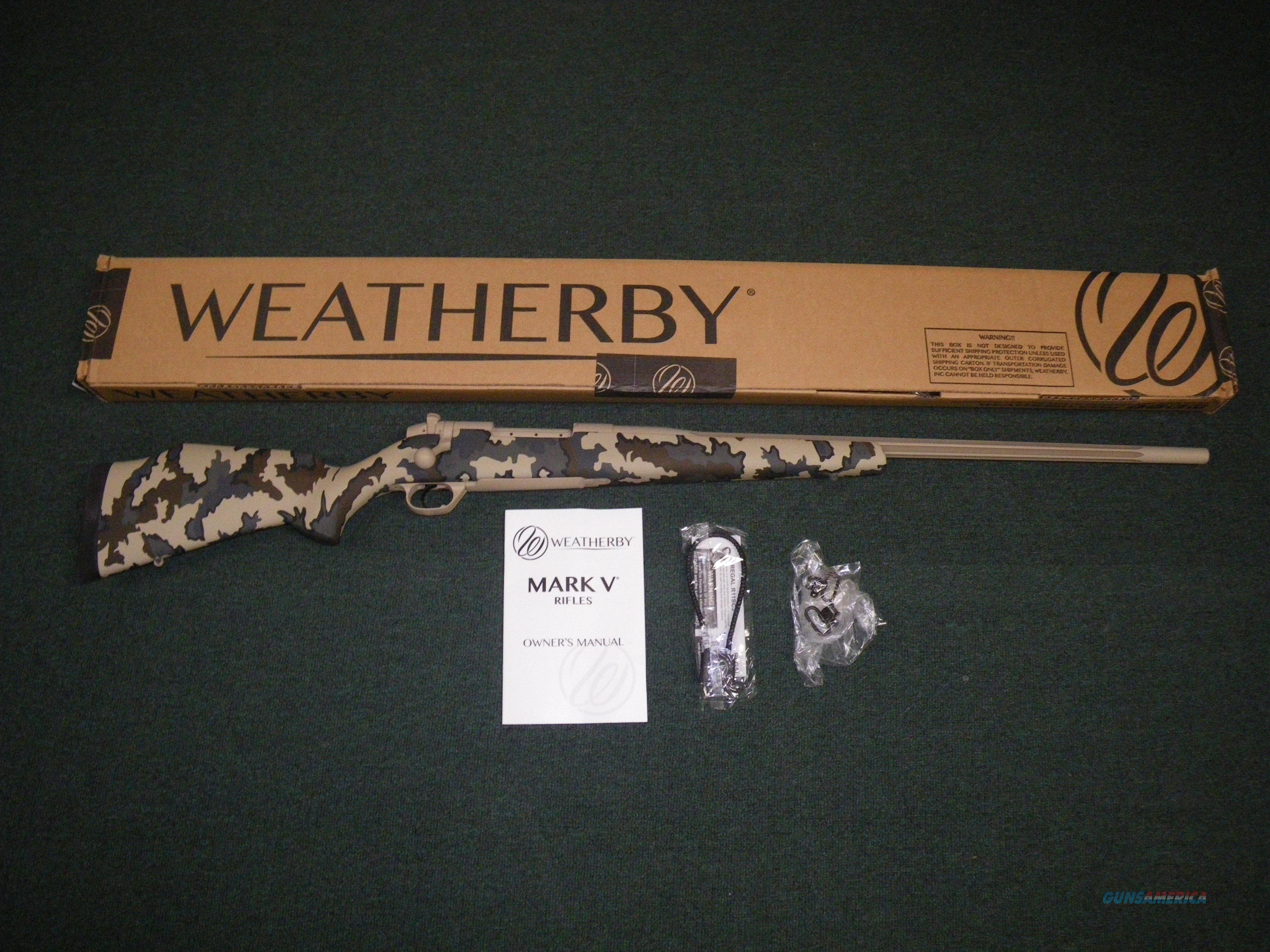 "Weatherby Mark V Arroyo 6.5-300 Wby Mag 26"" NEW #MAOM653WR6O  Guns > Rifles > Weatherby Rifles > Sporting"