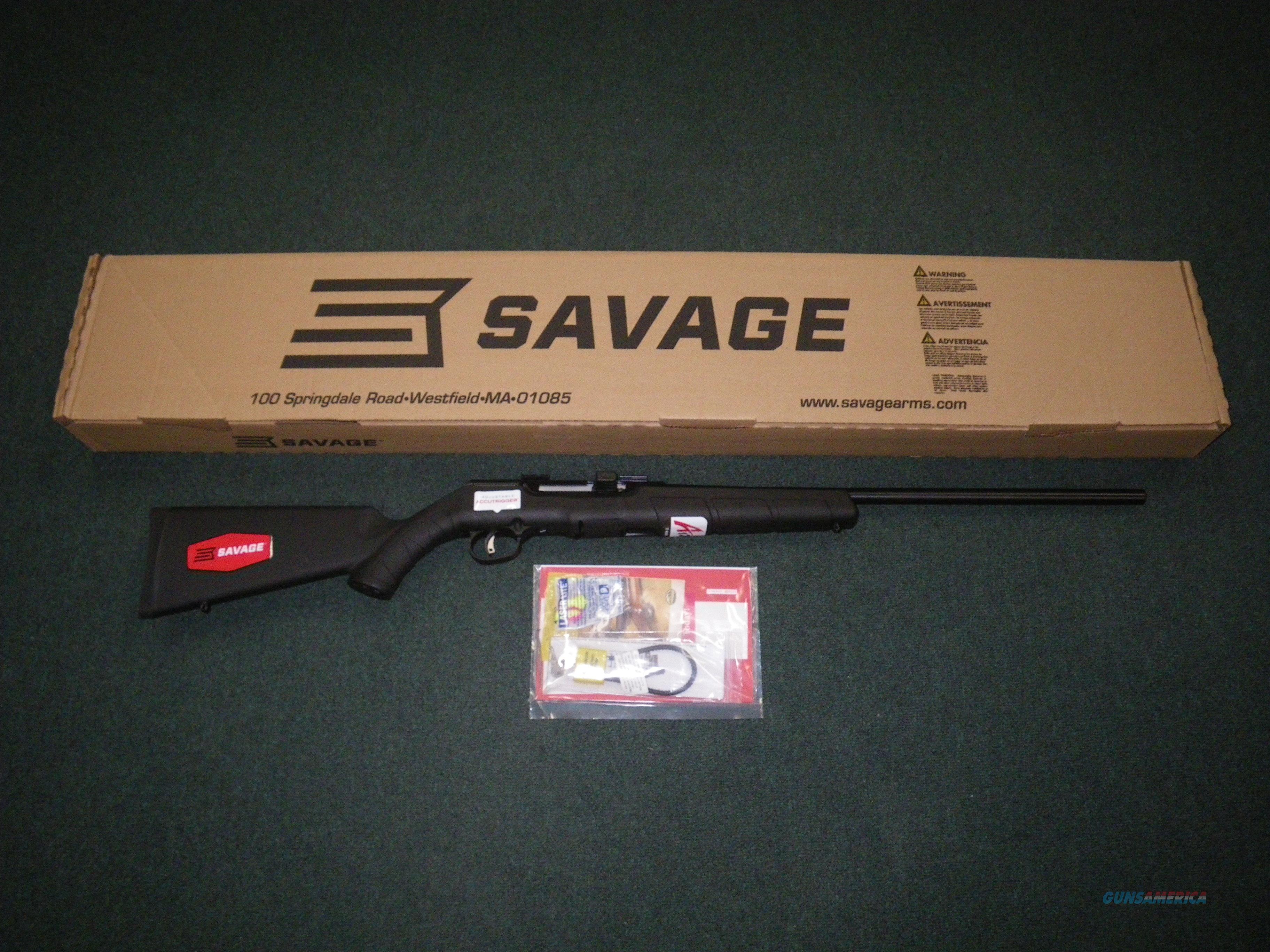 """Savage A17 17HMR 22"""" Heavy NEW Accutrigger 47007  Guns > Rifles > Savage Rifles > Accutrigger Models > Sporting"""