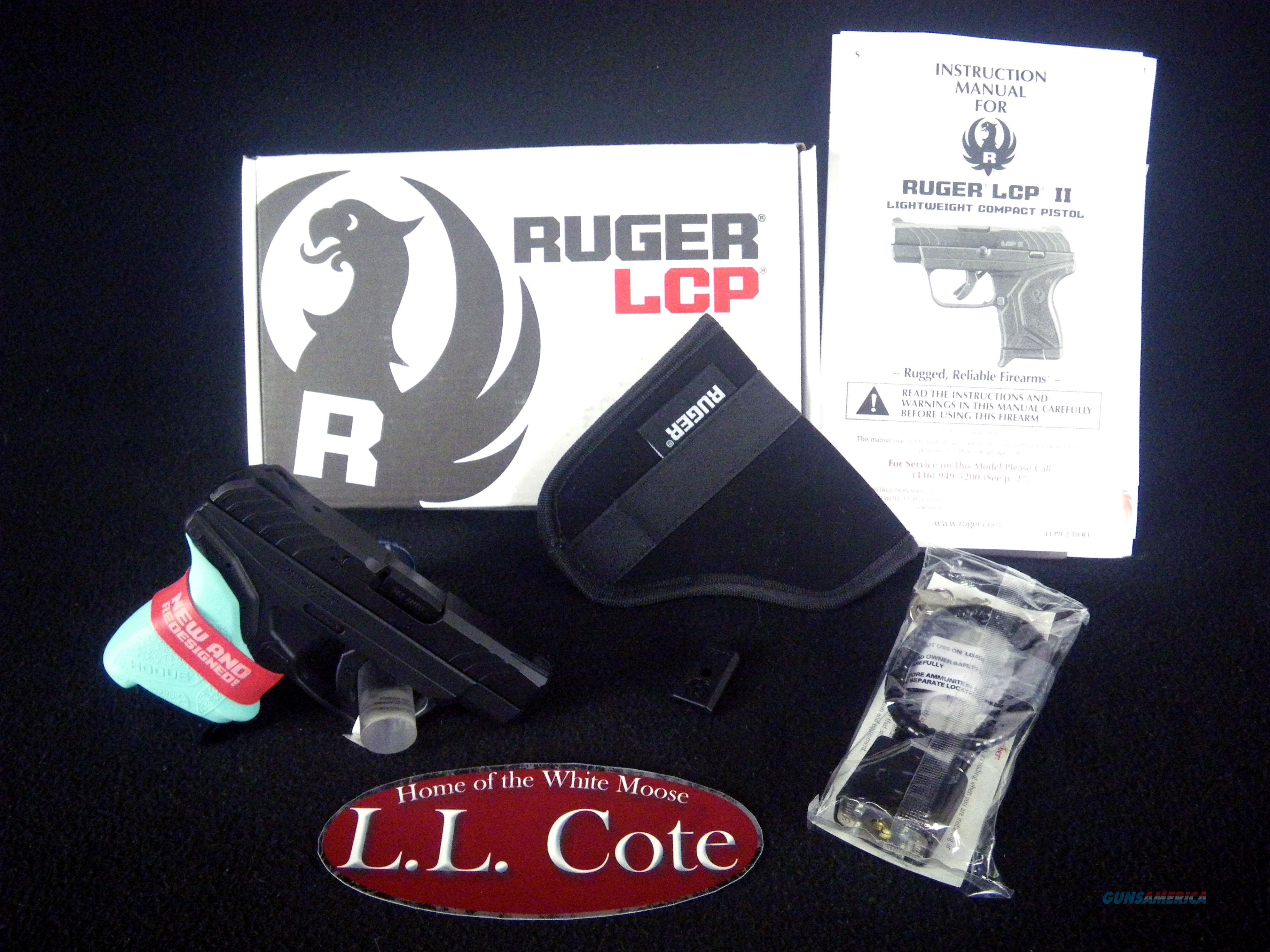 """Ruger LCP II Turquoise Hogue 380ACP 2.75"""" NEW 3774  Guns > Pistols > Ruger Semi-Auto Pistols > LCP"""