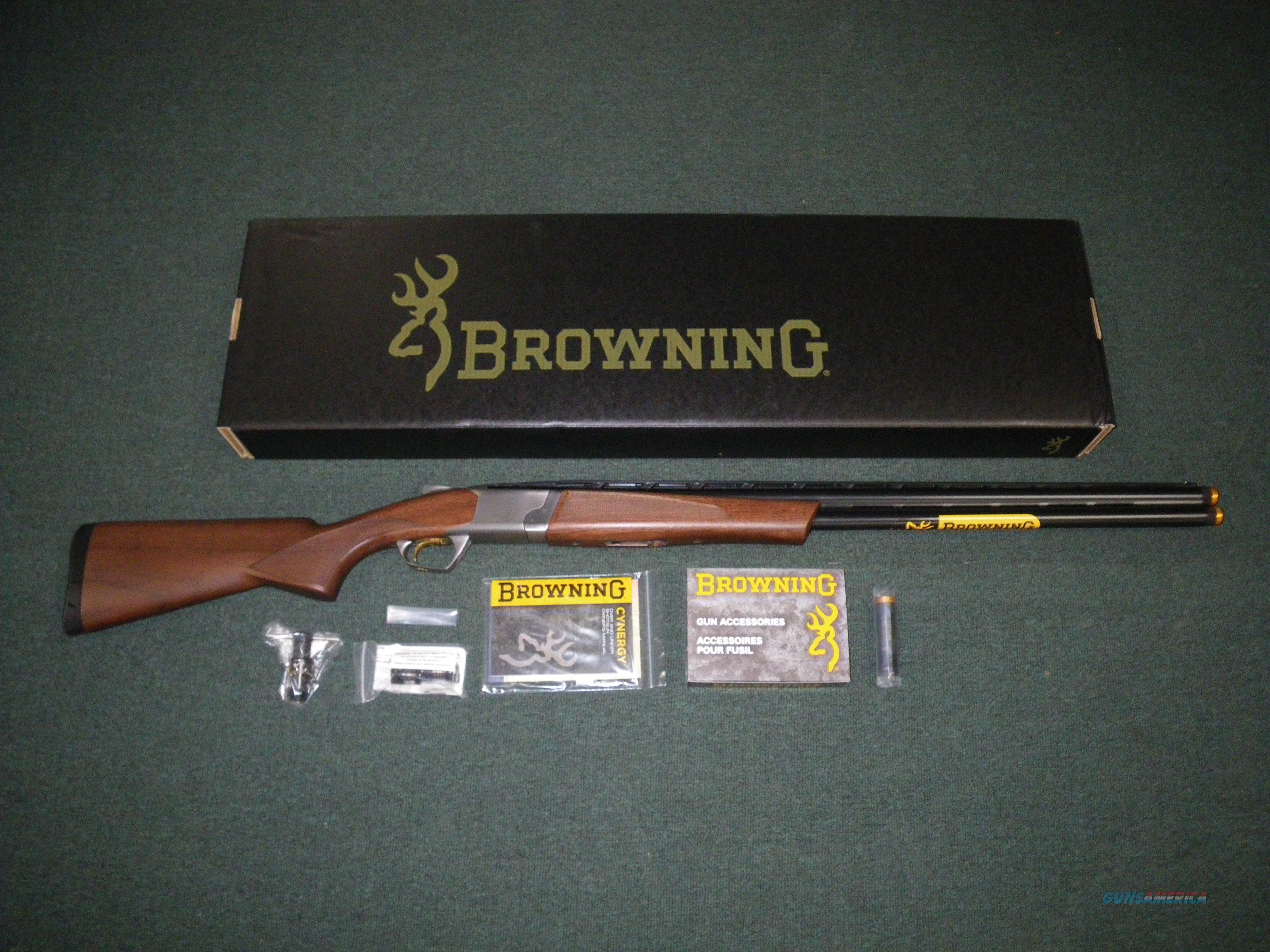 "Browning Cynergy CX 12ga 28"" NEW 3"" Chamber #018709304  Guns > Shotguns > Browning Shotguns > Over Unders > Cynergy > Hunting"