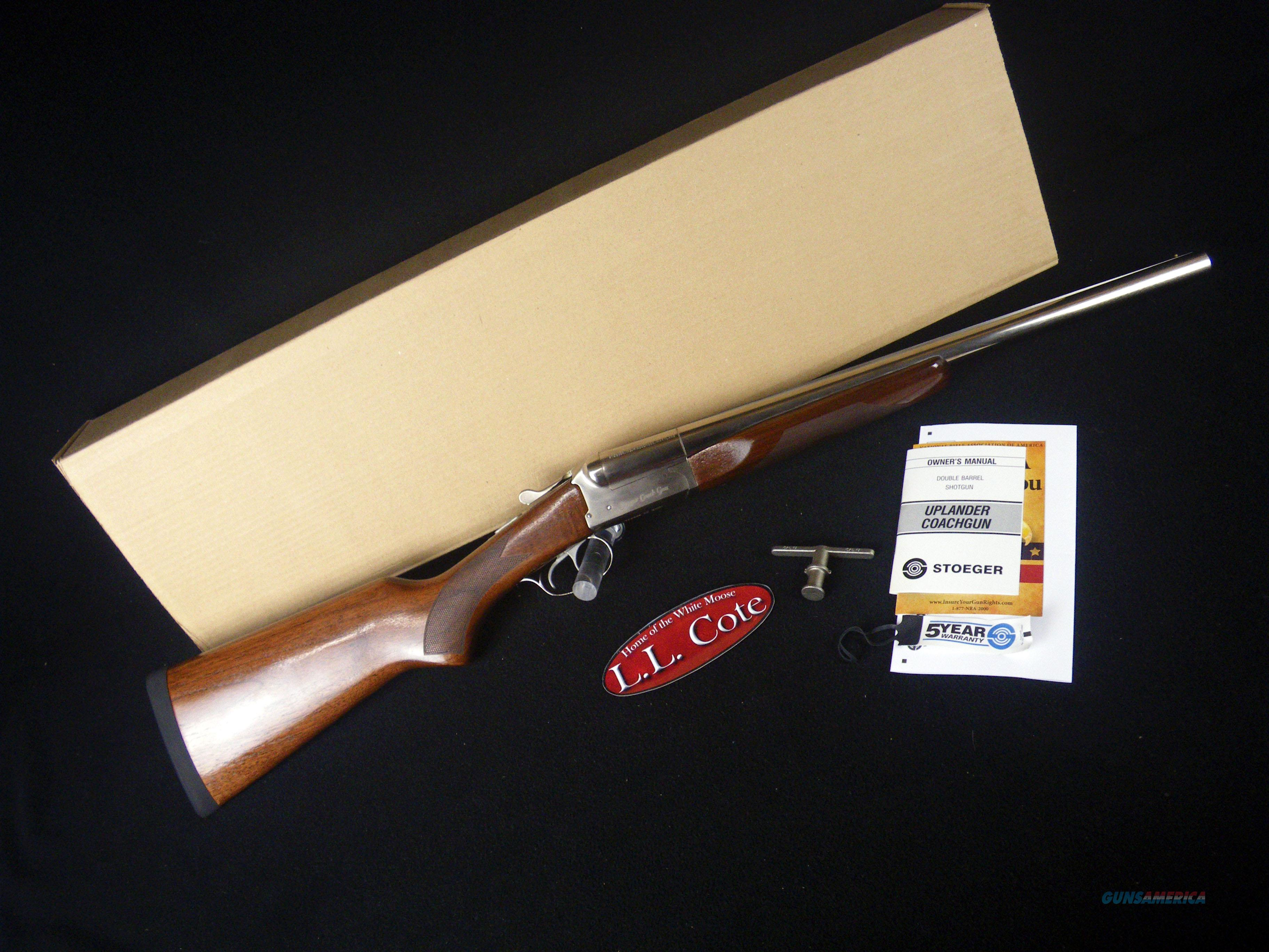 "Stoeger Coach Gun Supreme Nickel 20ga 20"" NEW 31489  Guns > Shotguns > Stoeger Shotguns"