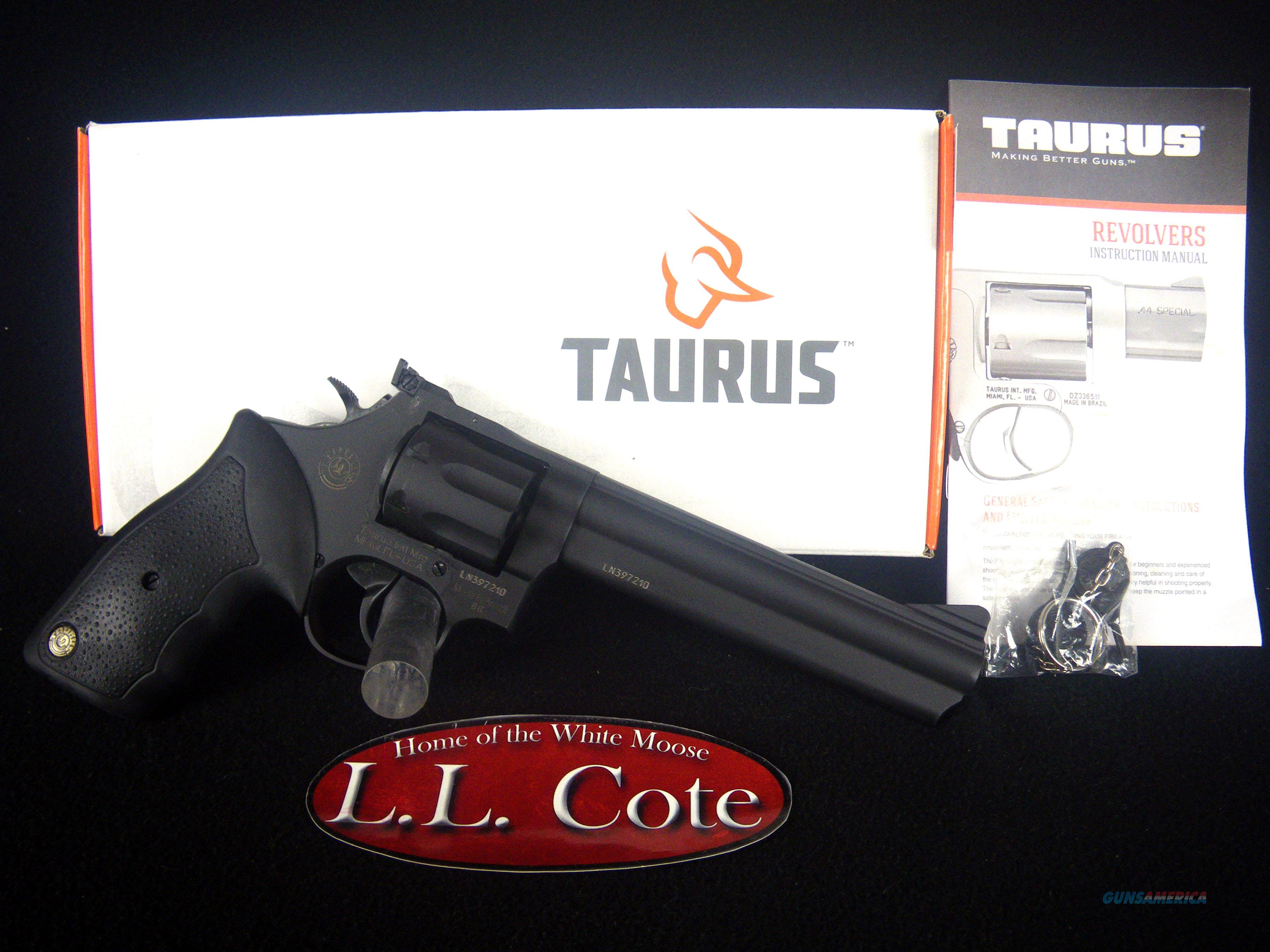 "Taurus Model 66 Blued 357mag 6"" NEW 2-660061   Guns > Pistols > Taurus Pistols > Revolvers"