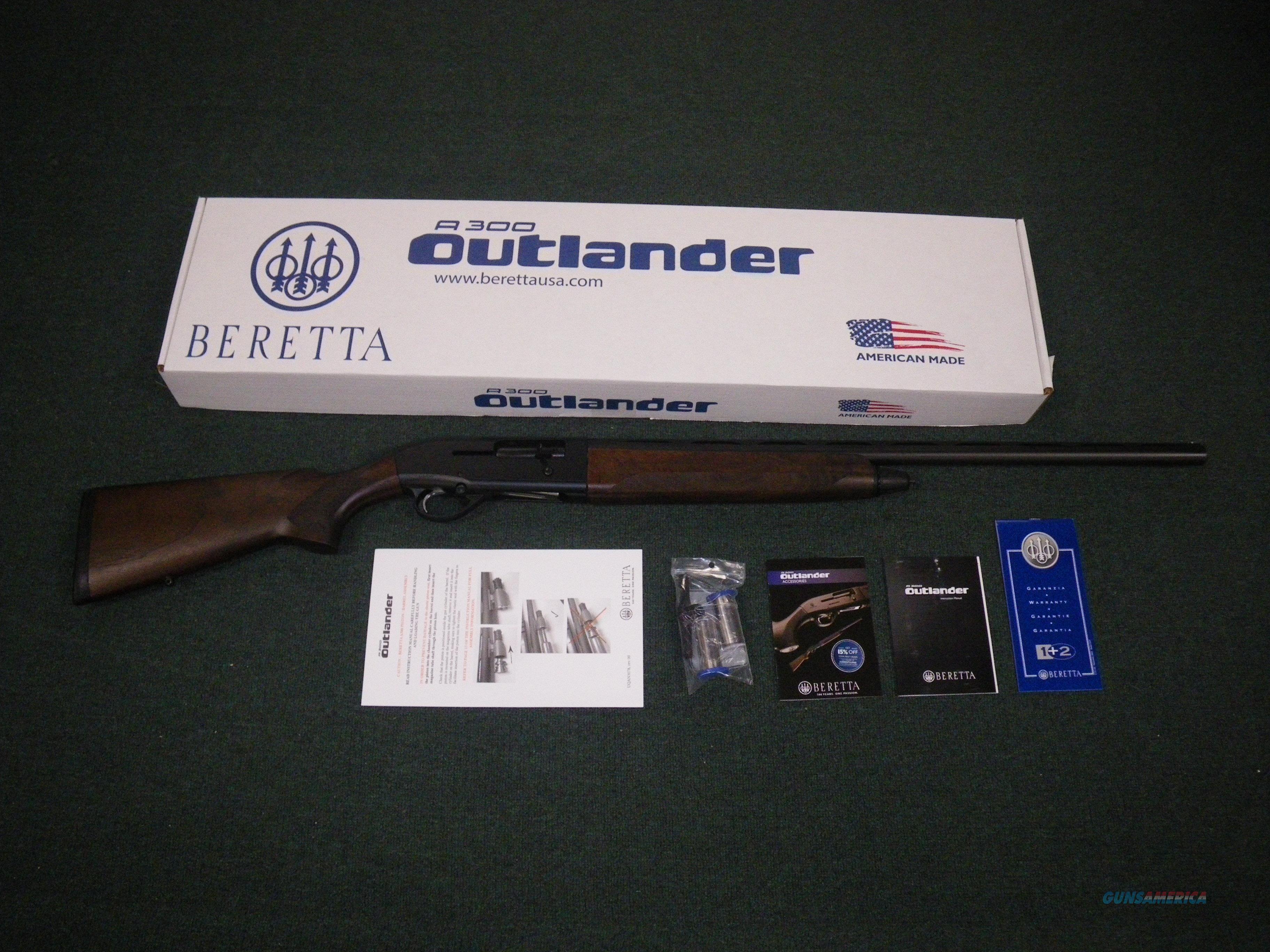 """Beretta A300 Outlander 12ga 28"""" 3"""" Chamber NEW #J30TA18  Guns > Shotguns > Benelli Shotguns > Sporting"""