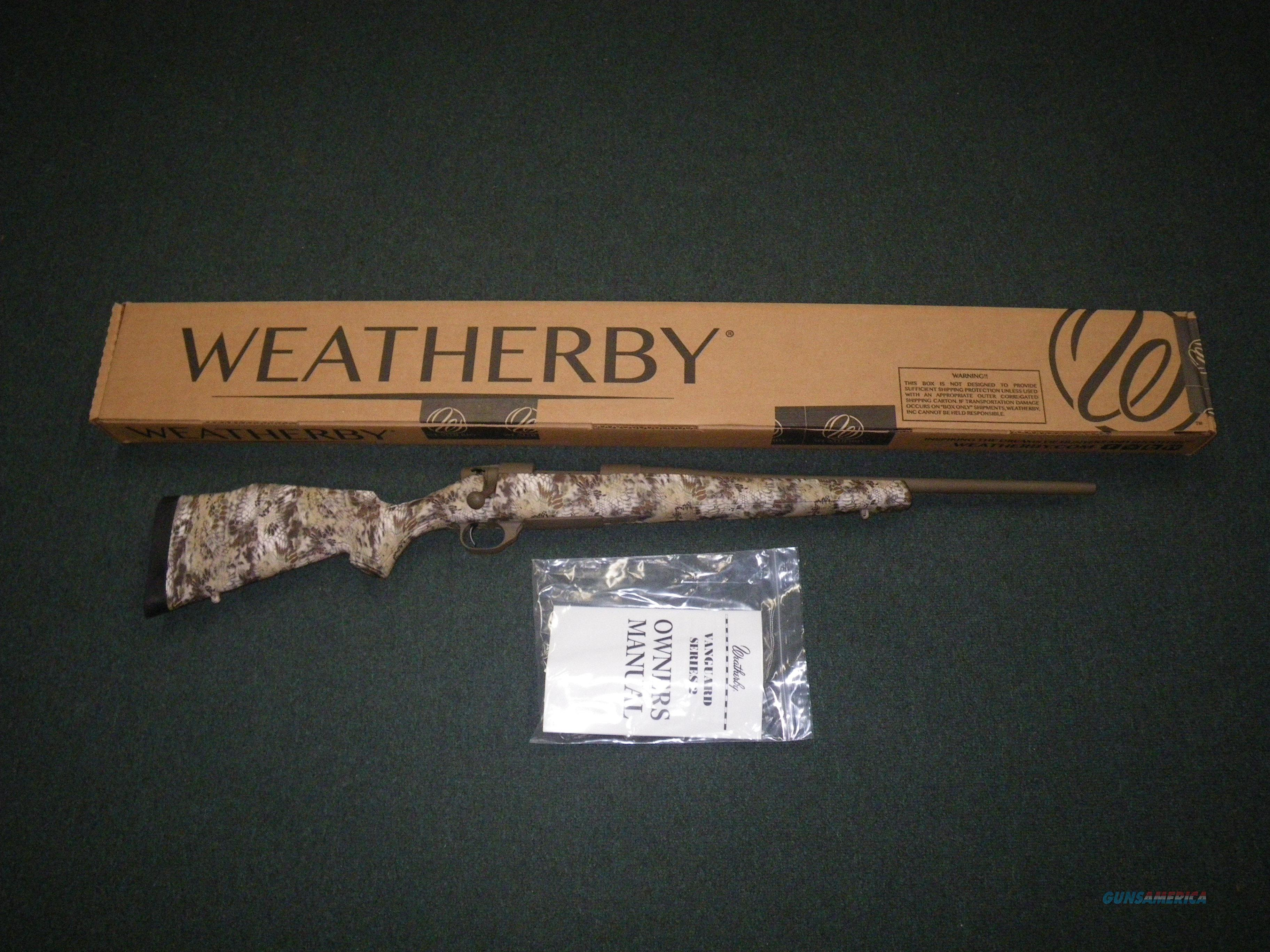 "Weatherby Vanguard NE Carbine 6.5 Creed 20"" NEW VPC65CMR0O  Guns > Rifles > Weatherby Rifles > Sporting"