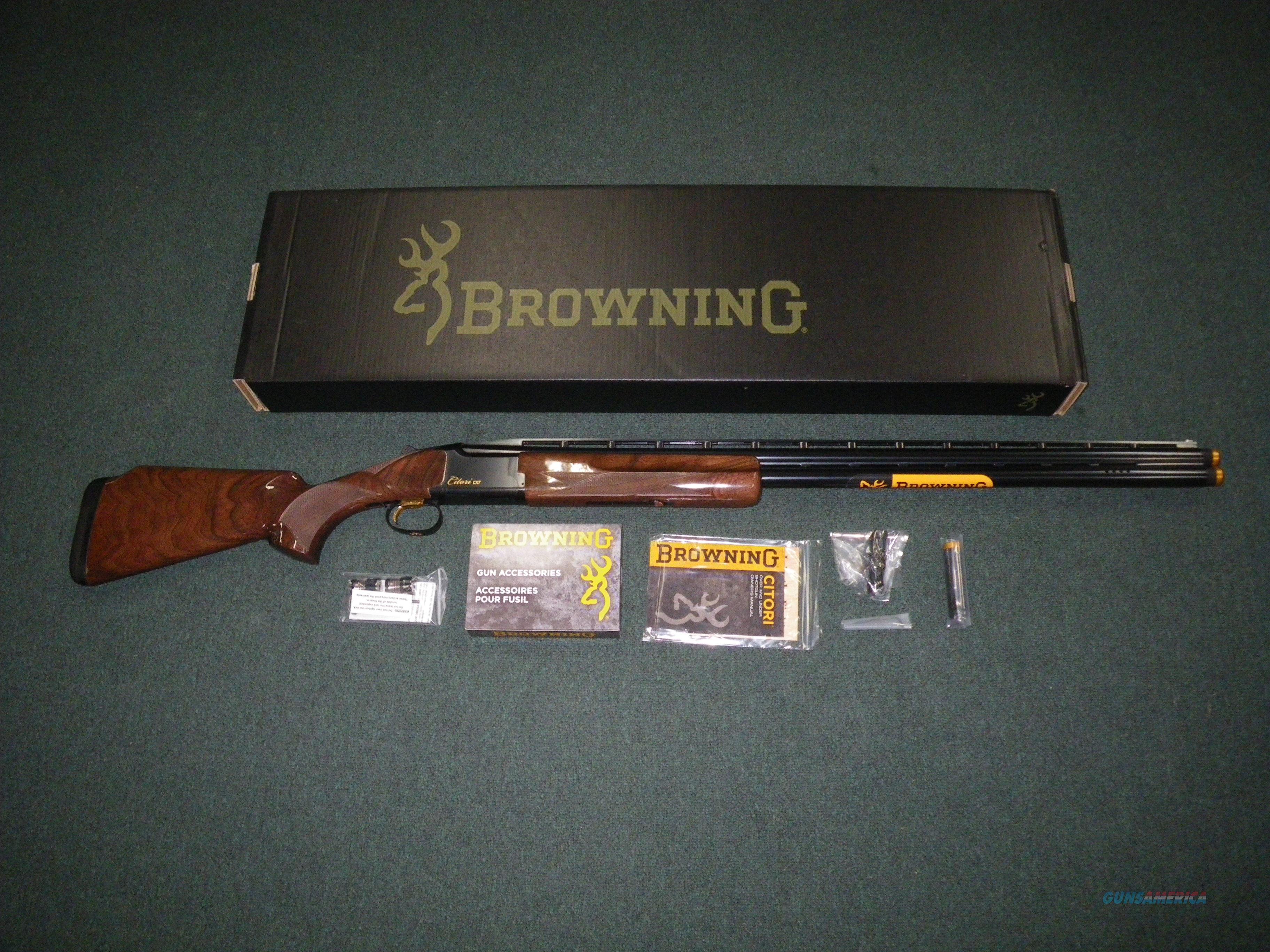 "Browning Citori CXT 12ga 30"" Ported NEW #018074326  Guns > Shotguns > Browning Shotguns > Over Unders > Citori > Hunting"