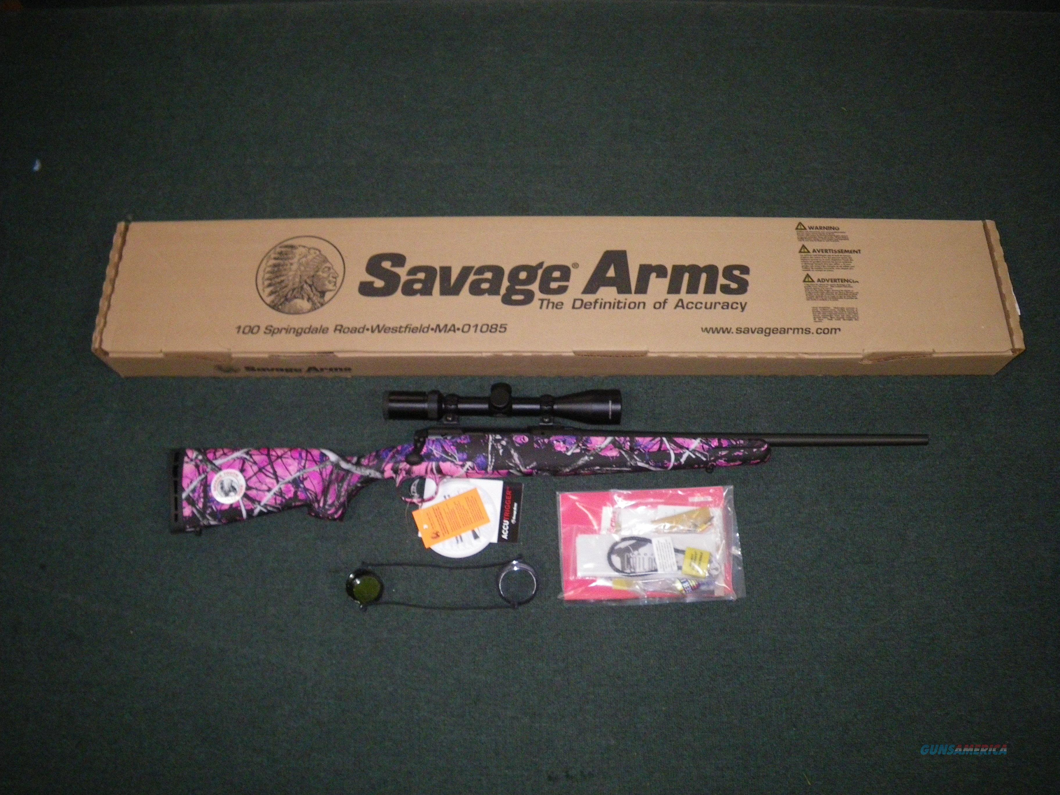 "Savage Axis II XP Youth 243 Win 20"" W/Scope #22230  Guns > Rifles > Savage Rifles > Axis"