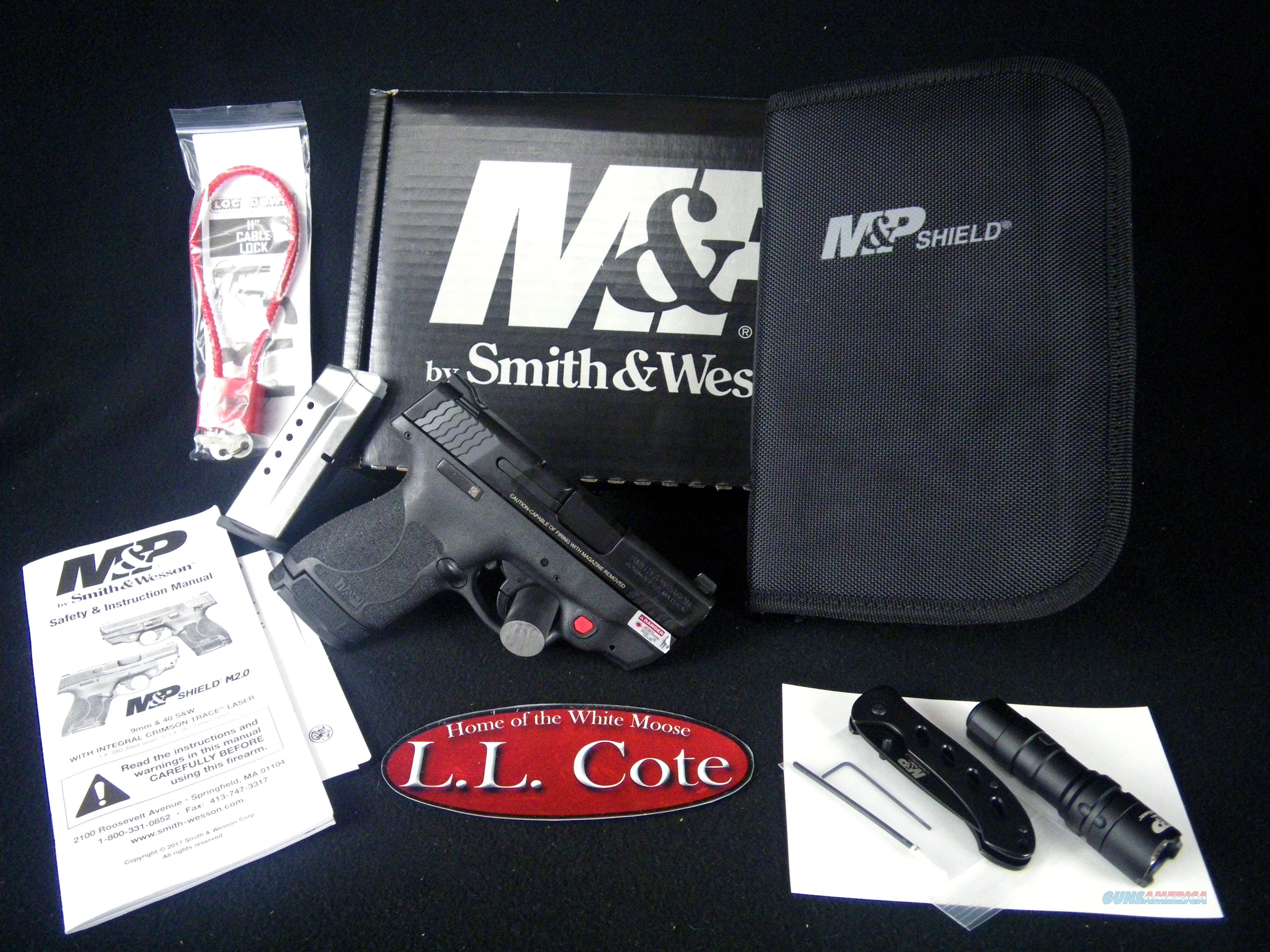 """Smith & Wesson M&P9 Shield M2.0 EDC 9mm 3"""" NEW 12395  Guns > Pistols > Smith & Wesson Pistols - Autos > Shield"""