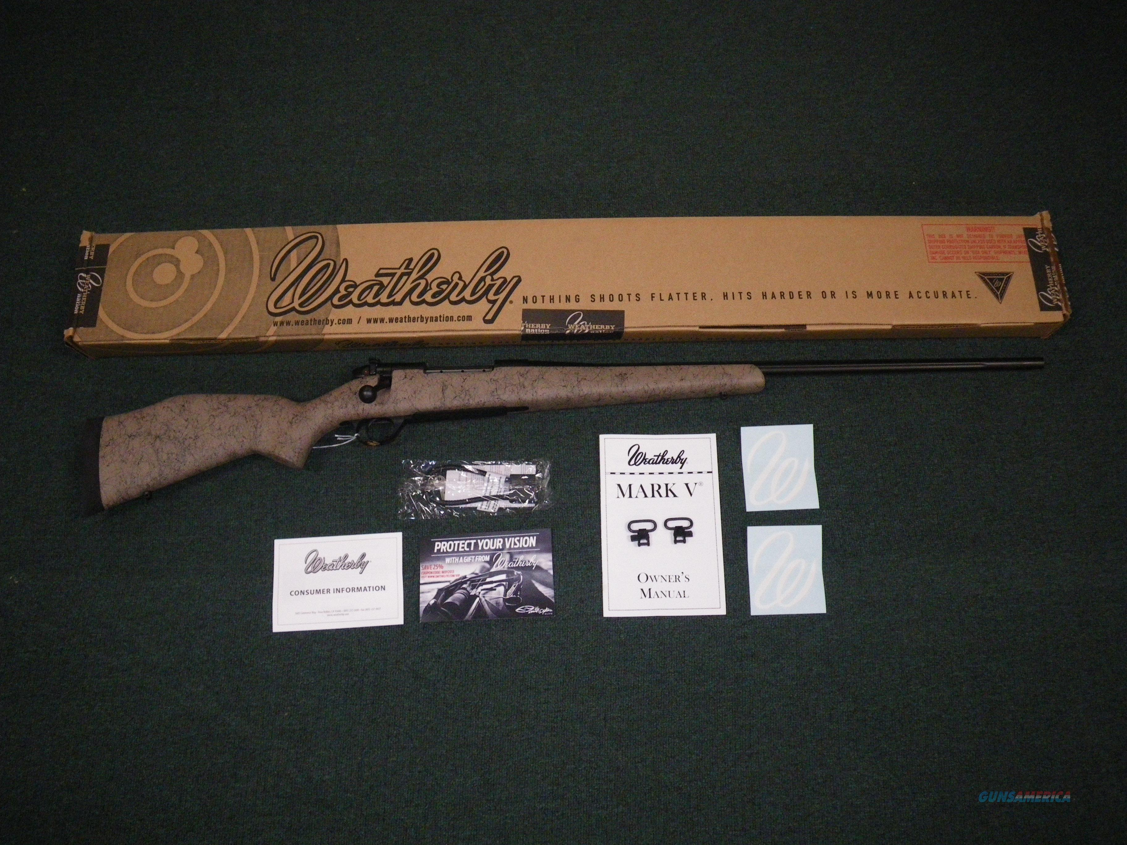 "Weatherby Mark V Ultra Lightweight 6.5 Creed 22"" NEW #MUTS65CMR2O  Guns > Rifles > Weatherby Rifles > Sporting"