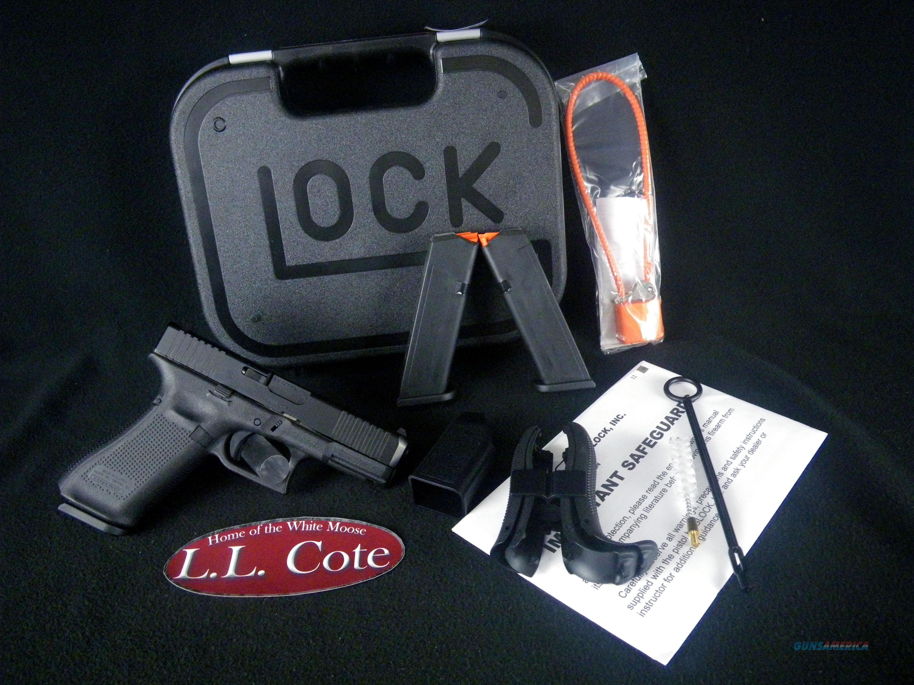 "Glock 45 Gen 5 9mm 4"" NEW Black PA455S203  Guns > Pistols > Glock Pistols > 45"
