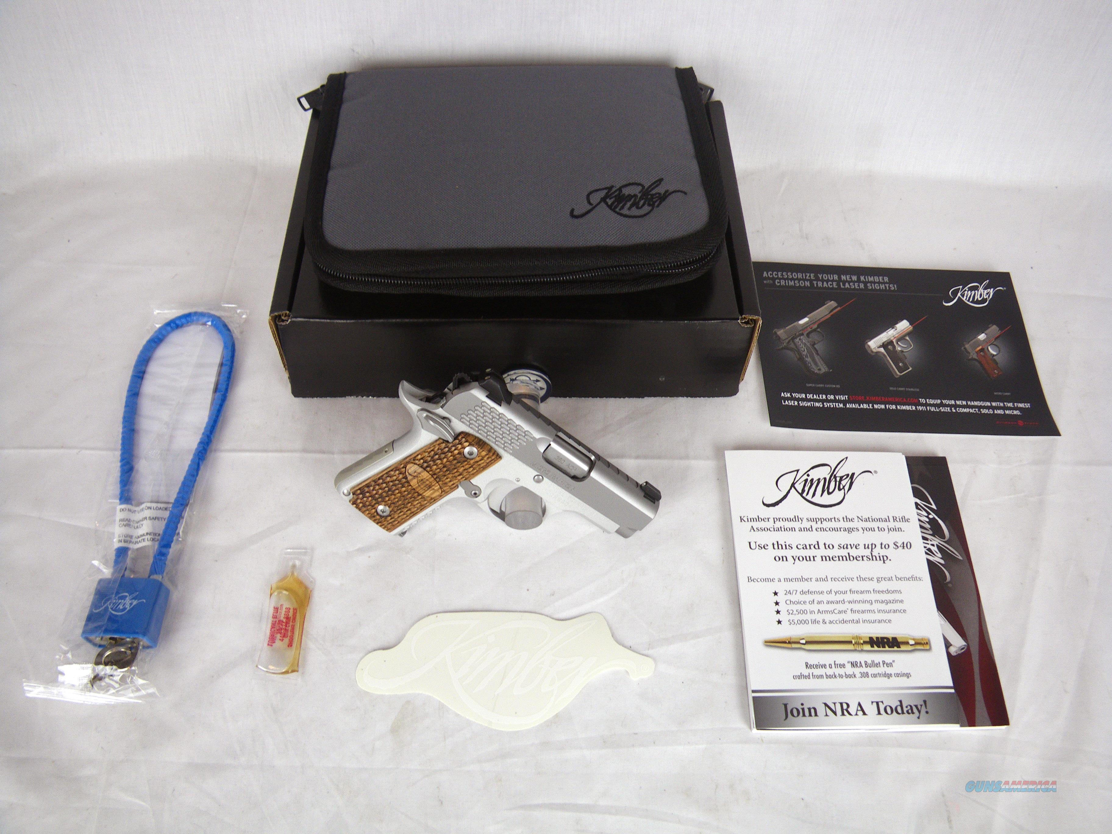 "Kimber Micro Raptor Stainless 380ACP 2.75"" NEW #3300084  Guns > Pistols > Kimber of America Pistols > Micro"