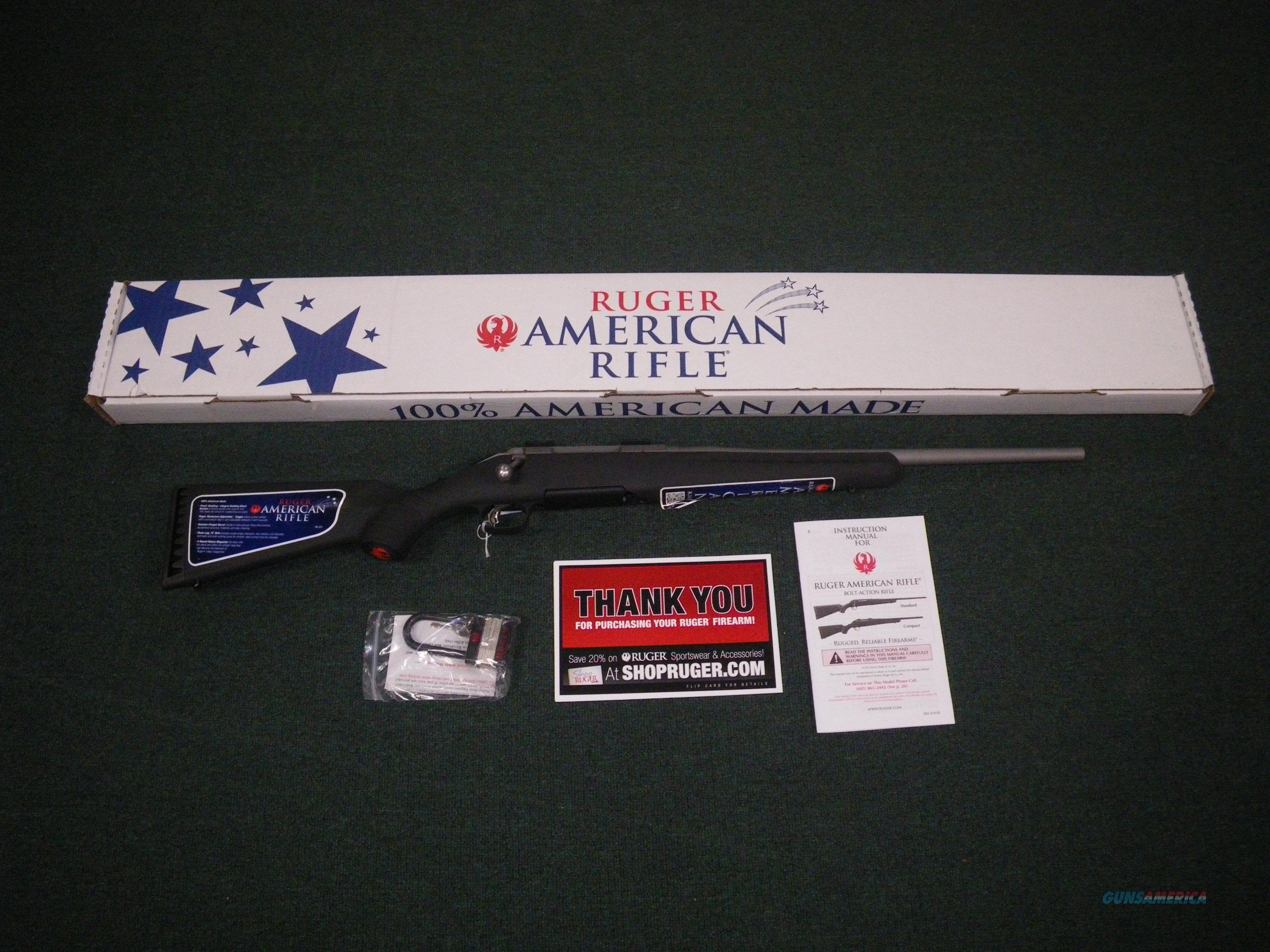 "Ruger American All-Weather Compact 223 Rem 18"" #6939  Guns > Rifles > Ruger Rifles > American Rifle"