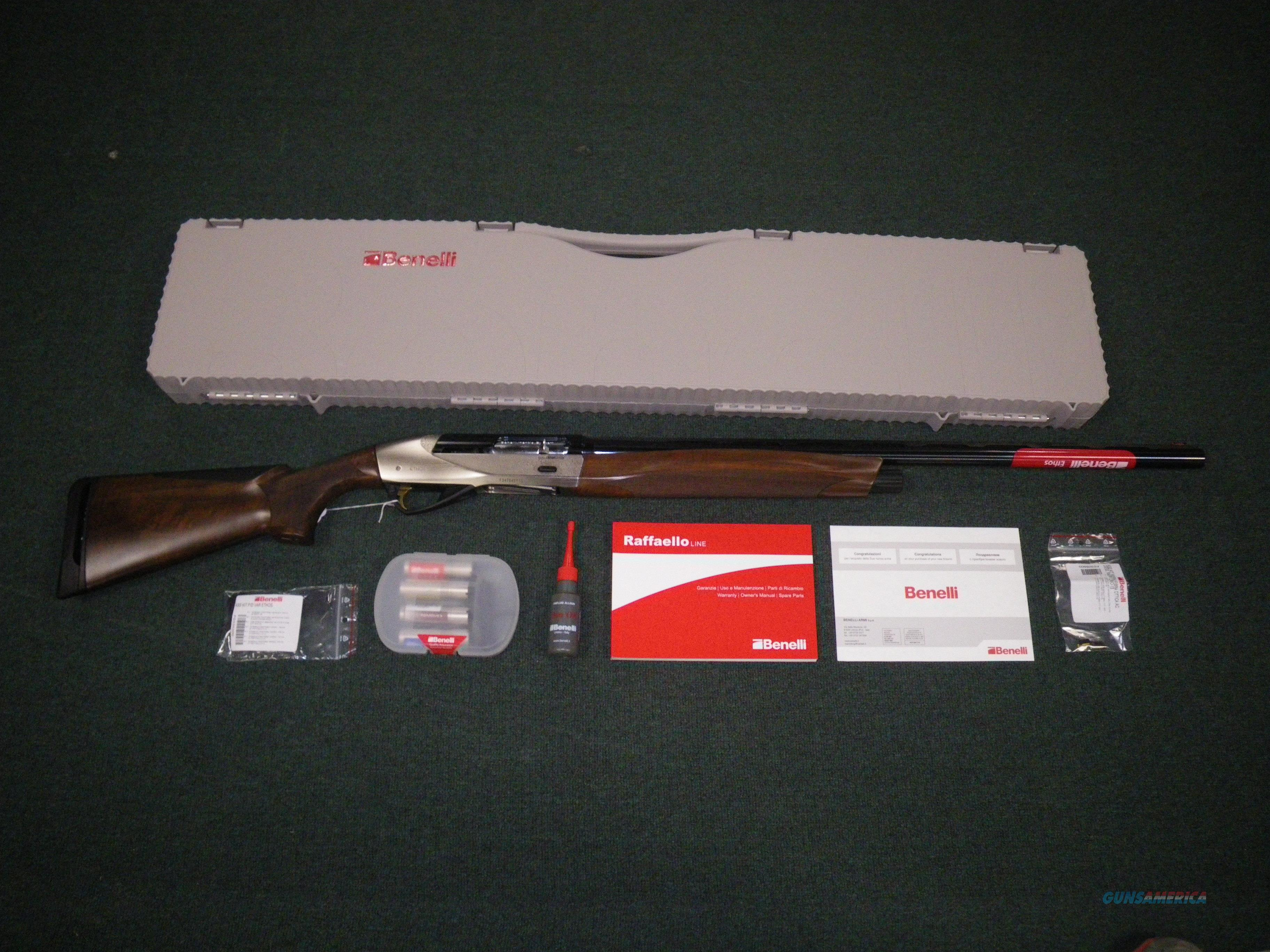 "Benelli Ethos Field 12ga 26"" Nickel/Walnut #10461  Guns > Shotguns > Benelli Shotguns > Sporting"