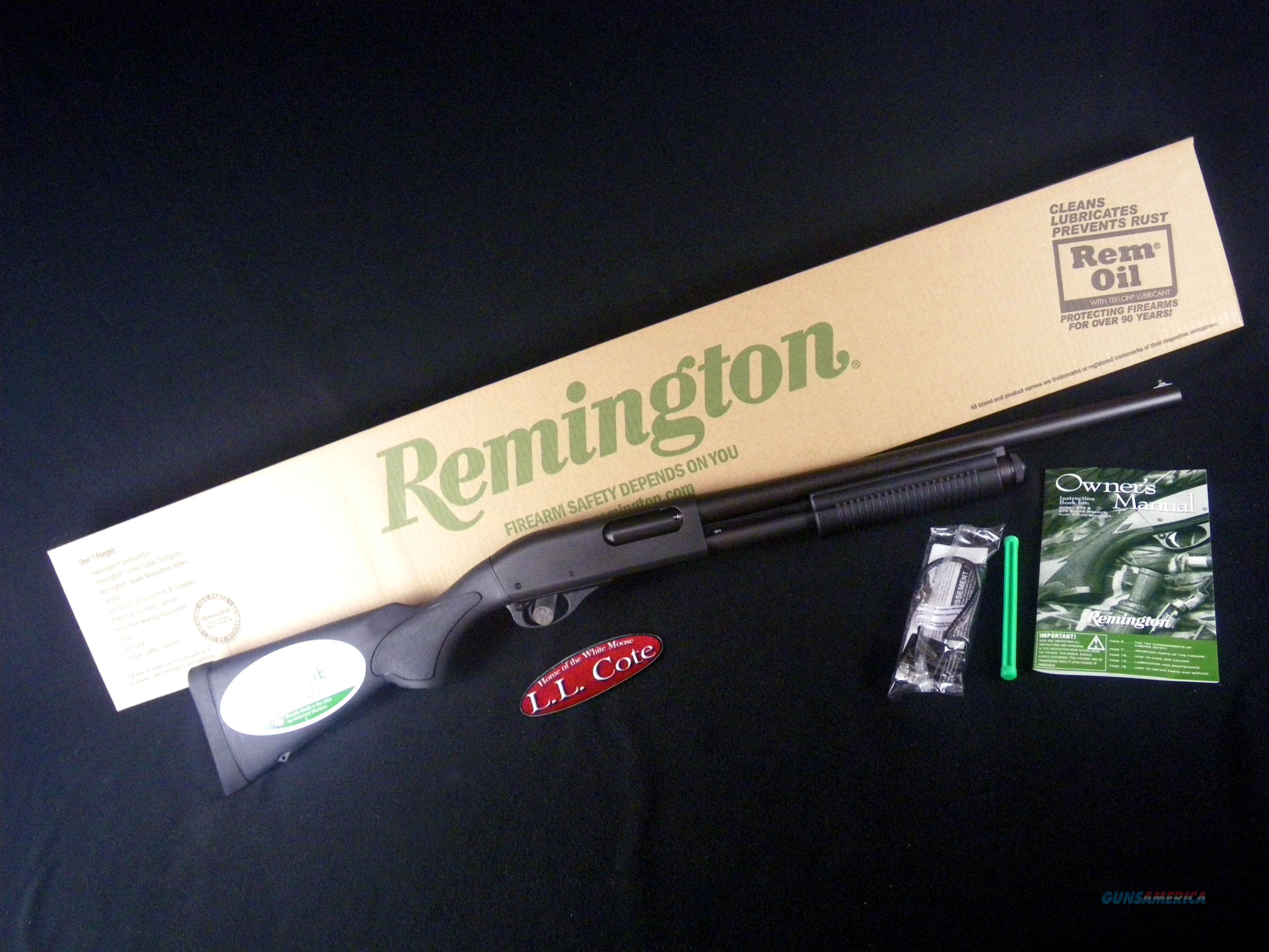 """Remington 870 Express Syn Tactical 12ga 18.5"""" NEW 25549  Guns > Shotguns > Remington Shotguns  > Pump > Hunting"""