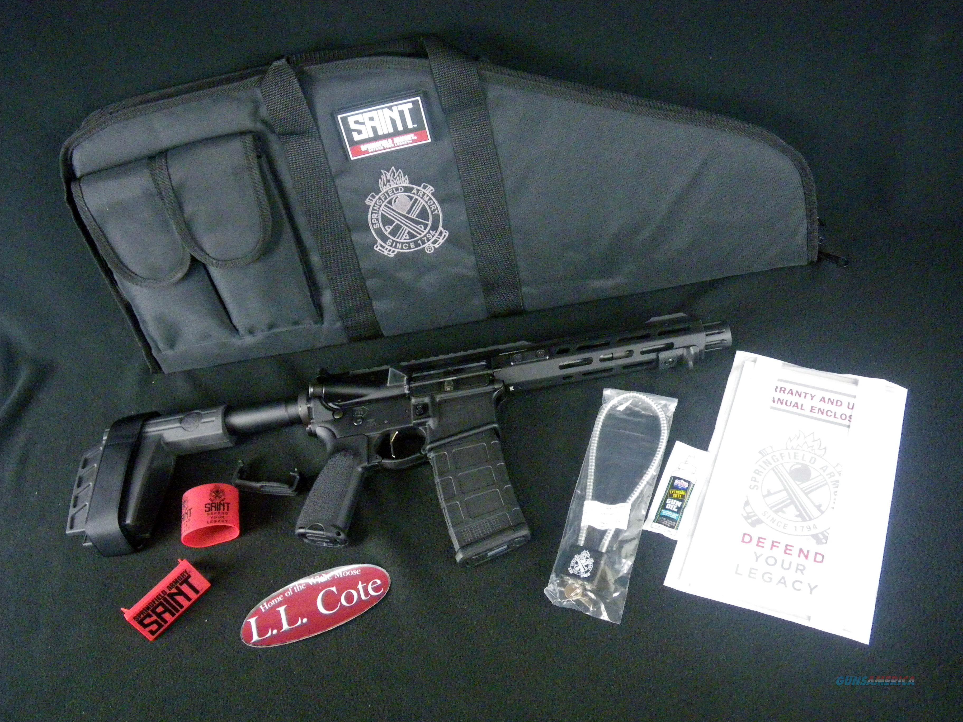 "Springfield Saint Victor Pistol 5.56x45 7.5"" NEW STV975556B  Guns > Pistols > Springfield Armory Pistols > SAINT Pistol"
