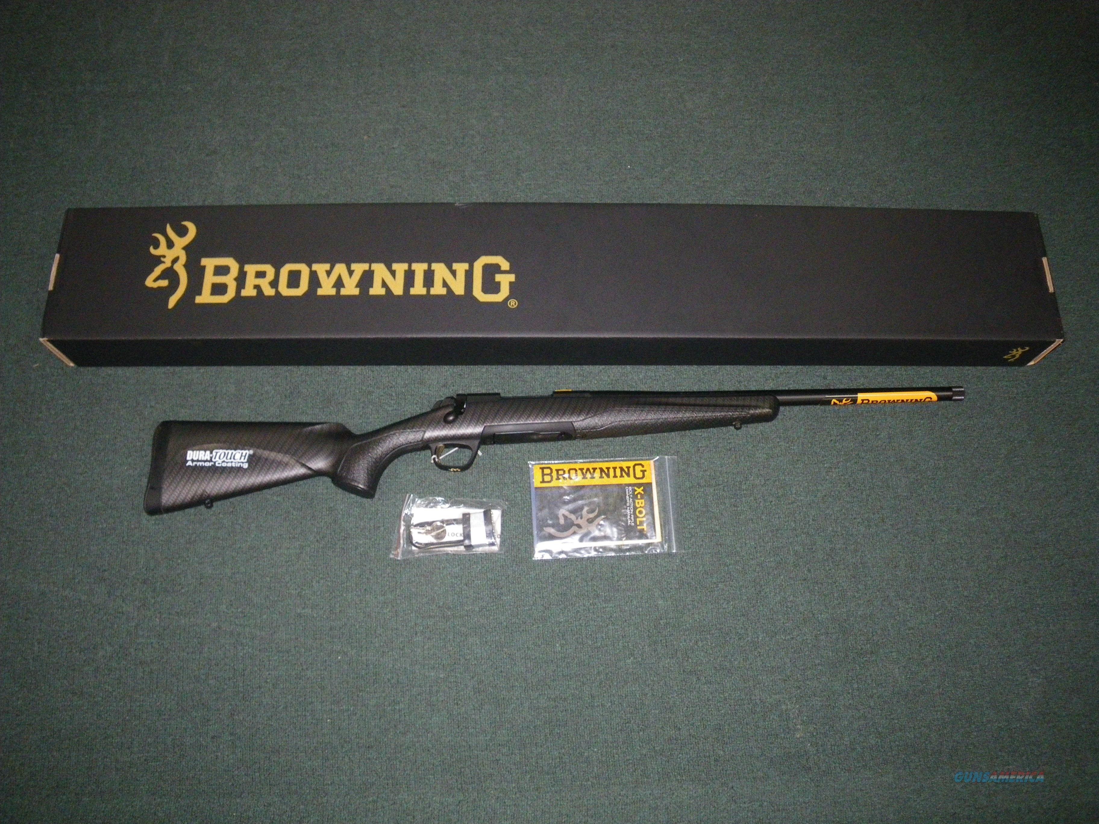 "Browning X-Bolt Suppressor Ready Syn 308 Win 20"" #035367218  Guns > Rifles > Browning Rifles > Bolt Action > Hunting > Blue"