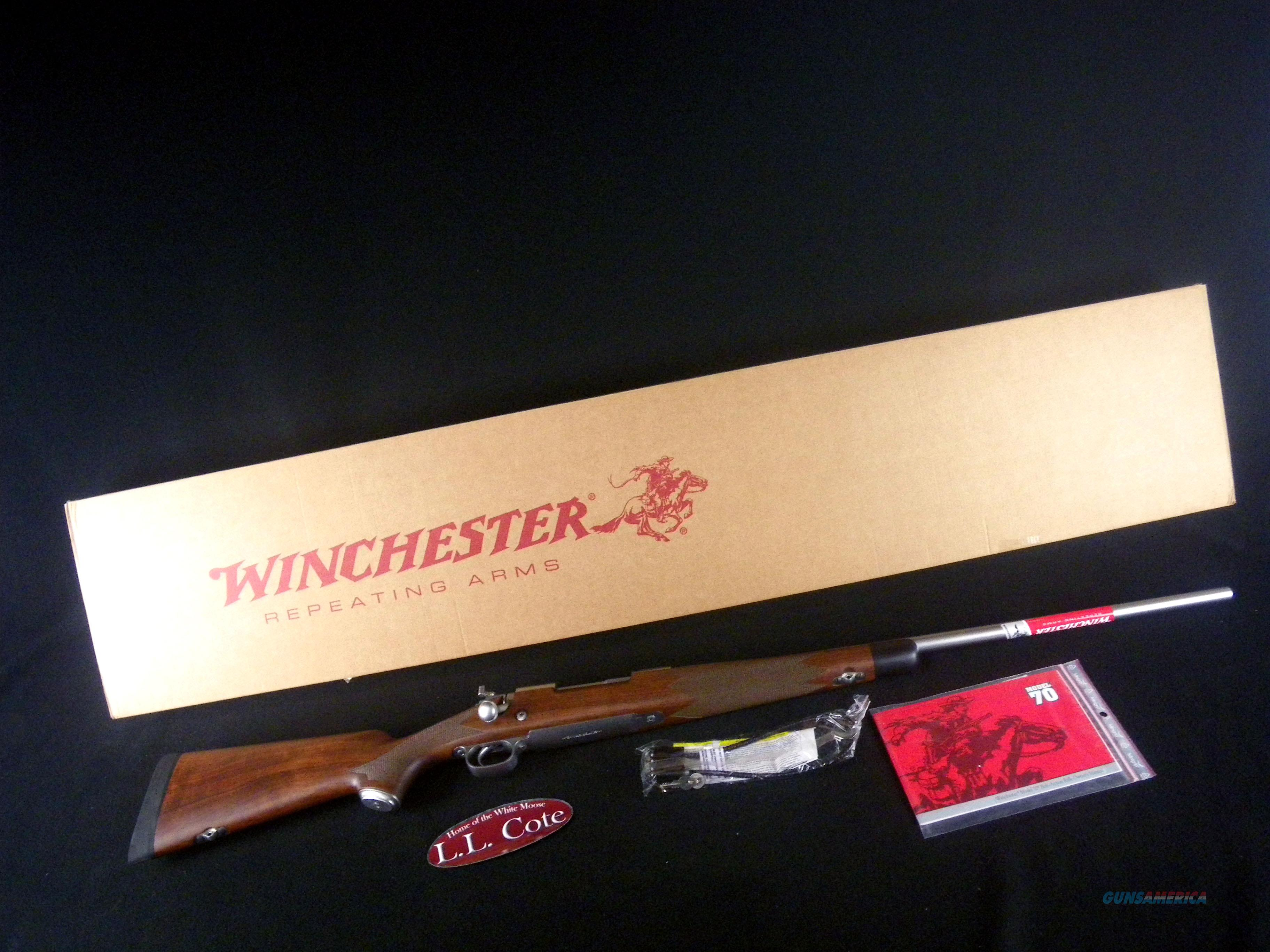"Winchester Model 70 Super Grade SS 308 Win 22"" NEW 535235220  Guns > Rifles > Winchester Rifles - Modern Bolt/Auto/Single > Model 70 > Post-64"