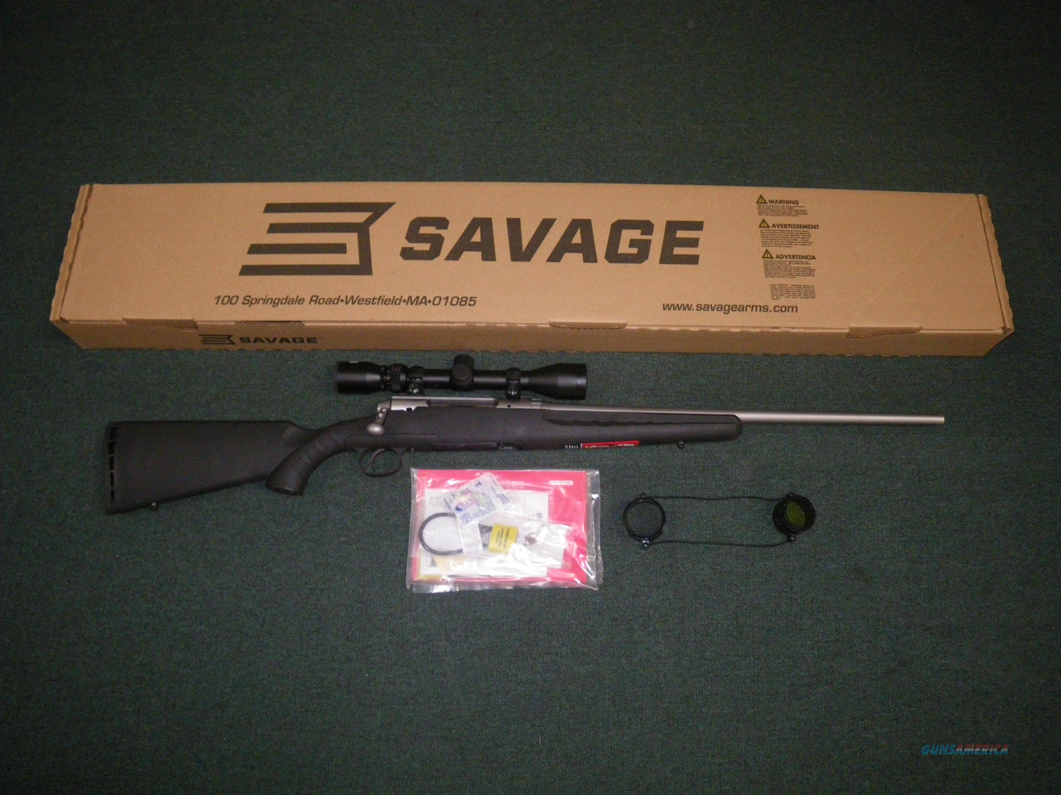 "Savage Axis XP Stainless 243 Win 22"" NEW #19176  Guns > Rifles > Savage Rifles > Axis"