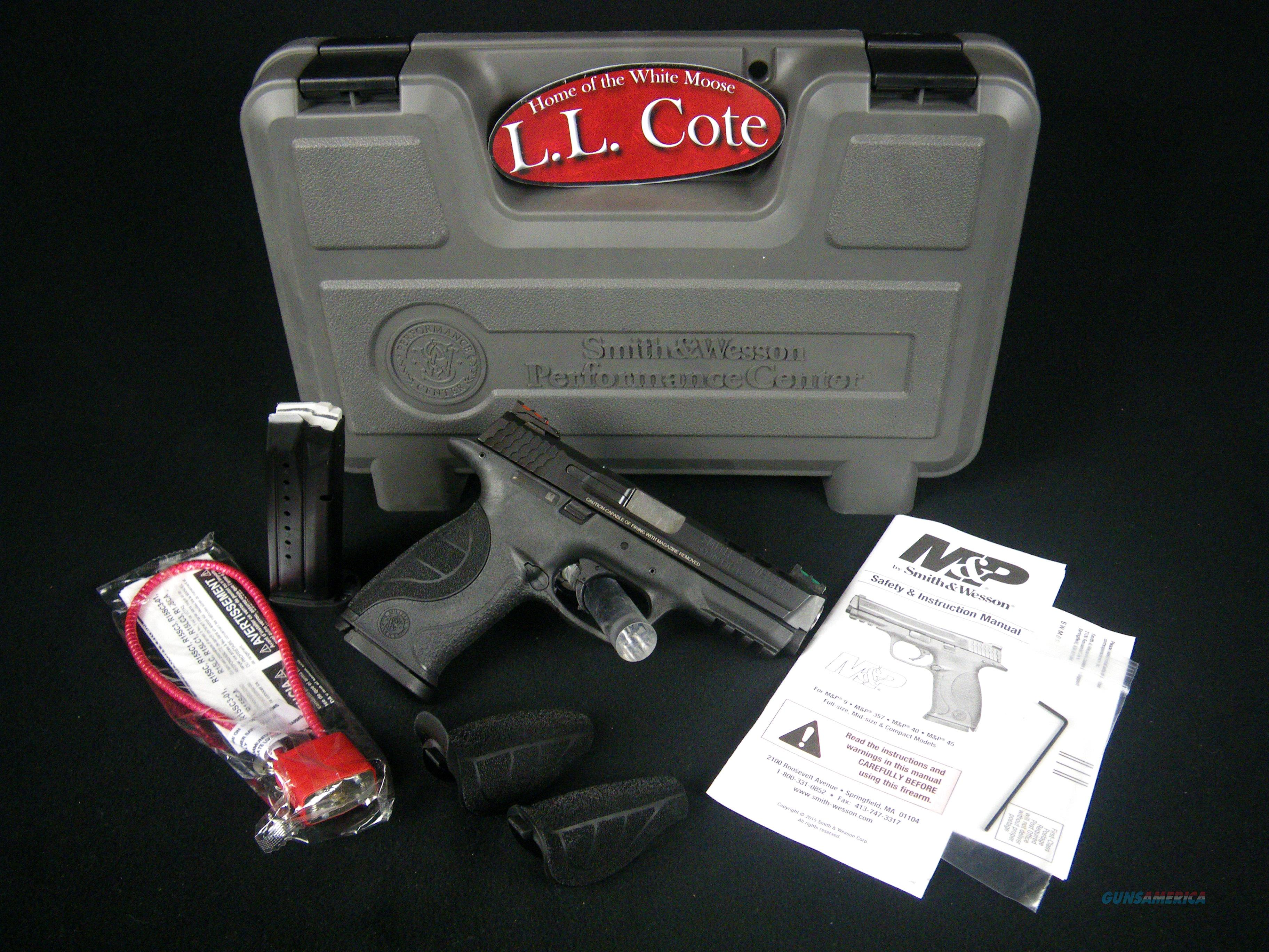 """Smith & Wesson M&P 9 Perf Cent 9mm 4.25"""" NEW 10217  Guns > Pistols > Smith & Wesson Revolvers > Performance Center"""