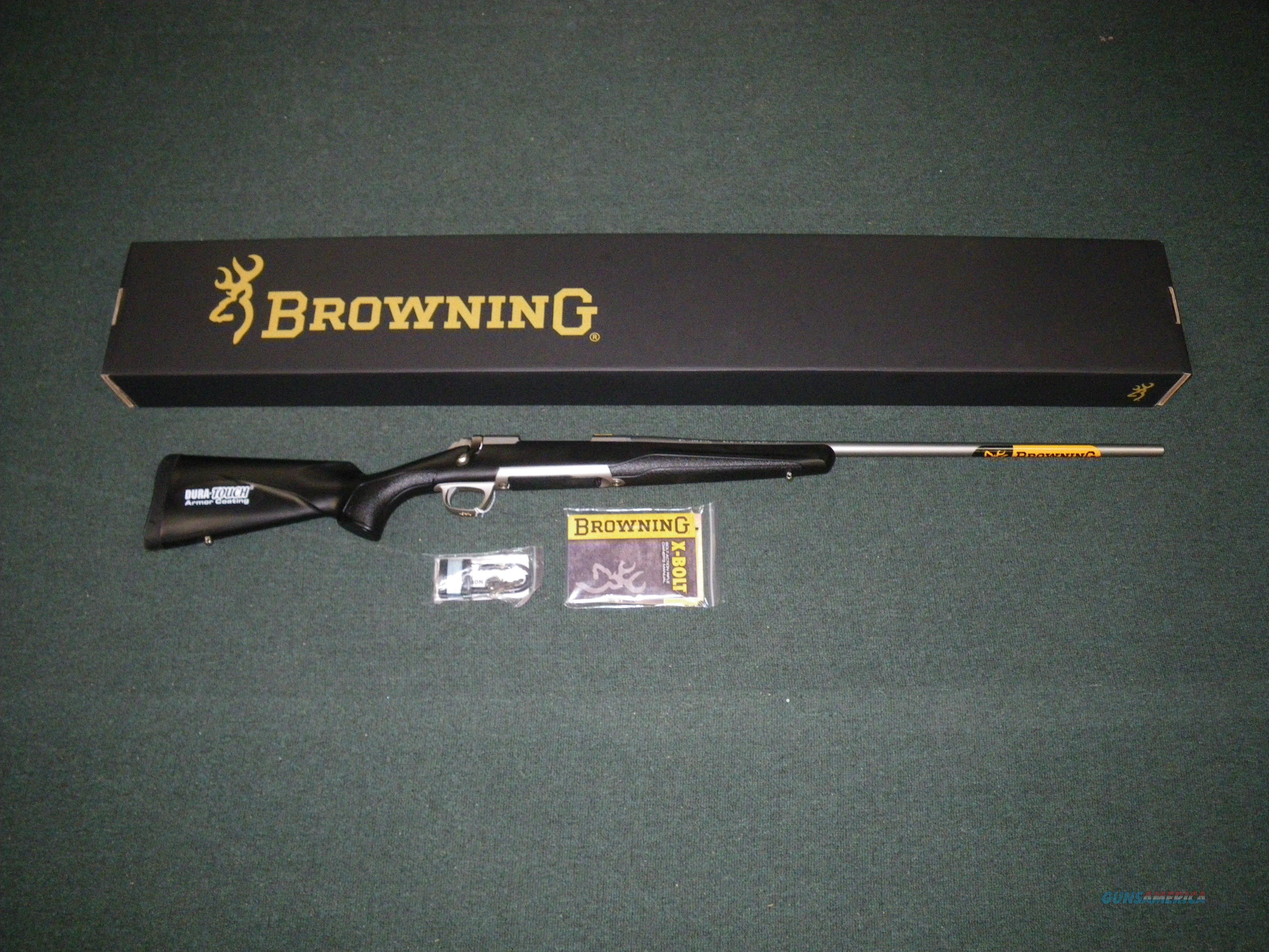 "Browning X-Bolt Stainless Stalker 7mm Rem Mag 26"" #035202227  Guns > Rifles > Browning Rifles > Bolt Action > Hunting > Stainless"