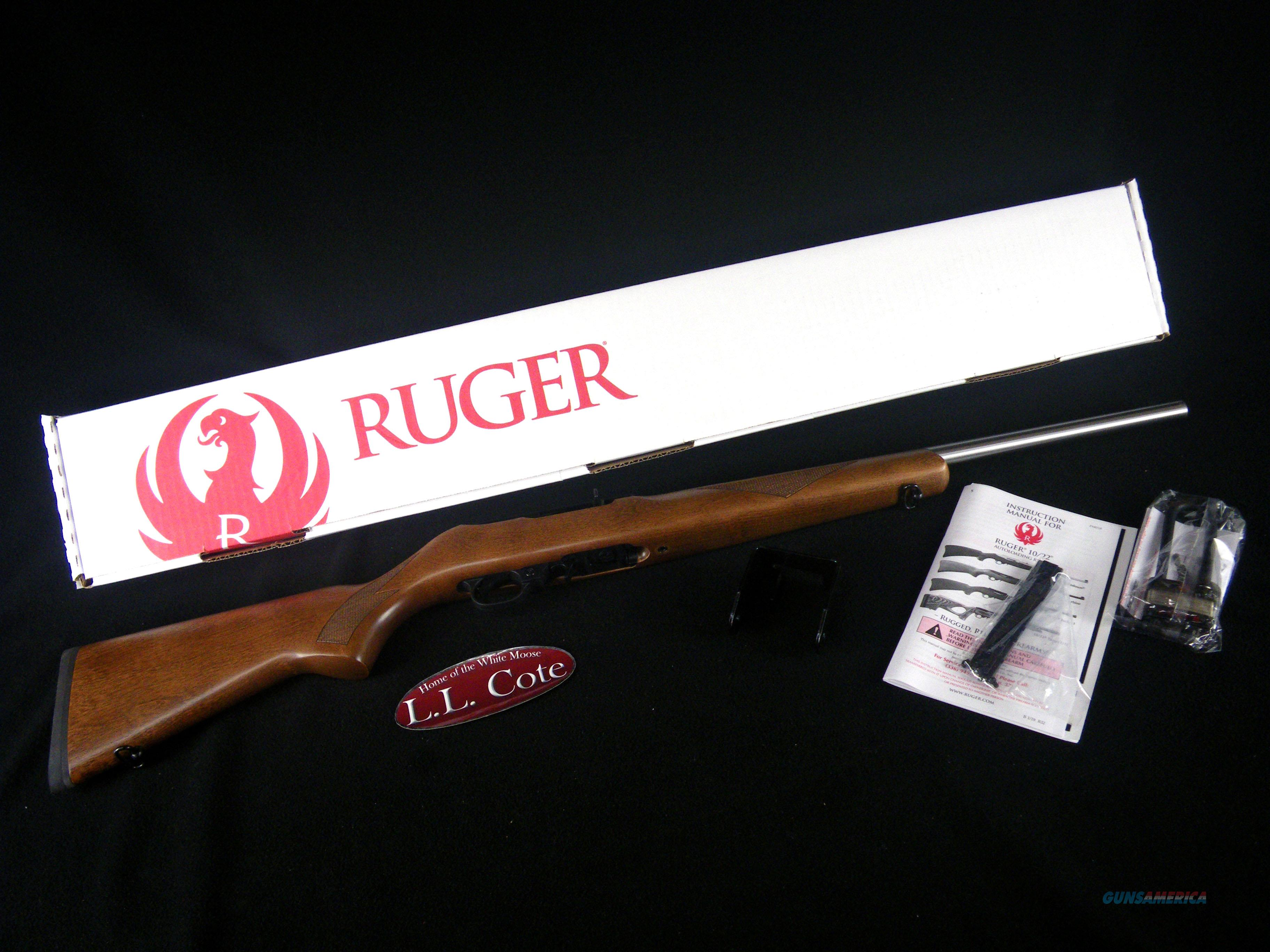 "Ruger 10/22 Sporter Birch Wood 22lr 20"" NEW 1237  Guns > Rifles > Ruger Rifles > 10-22"