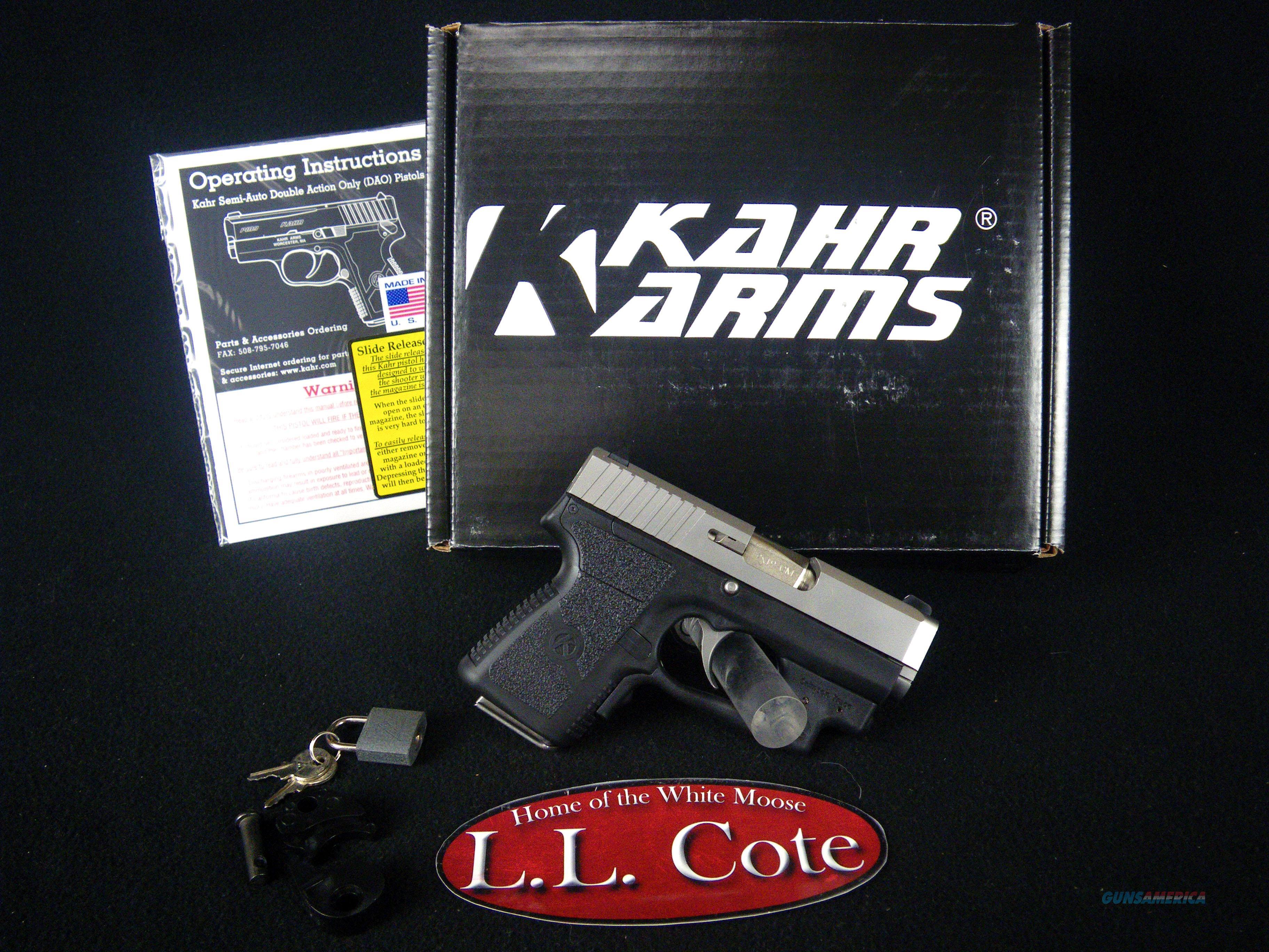 """Kahr CM9 9mm 3"""" Stainless/Polymer 6rnd NEW CM9093  Guns > Pistols > Kahr Pistols"""