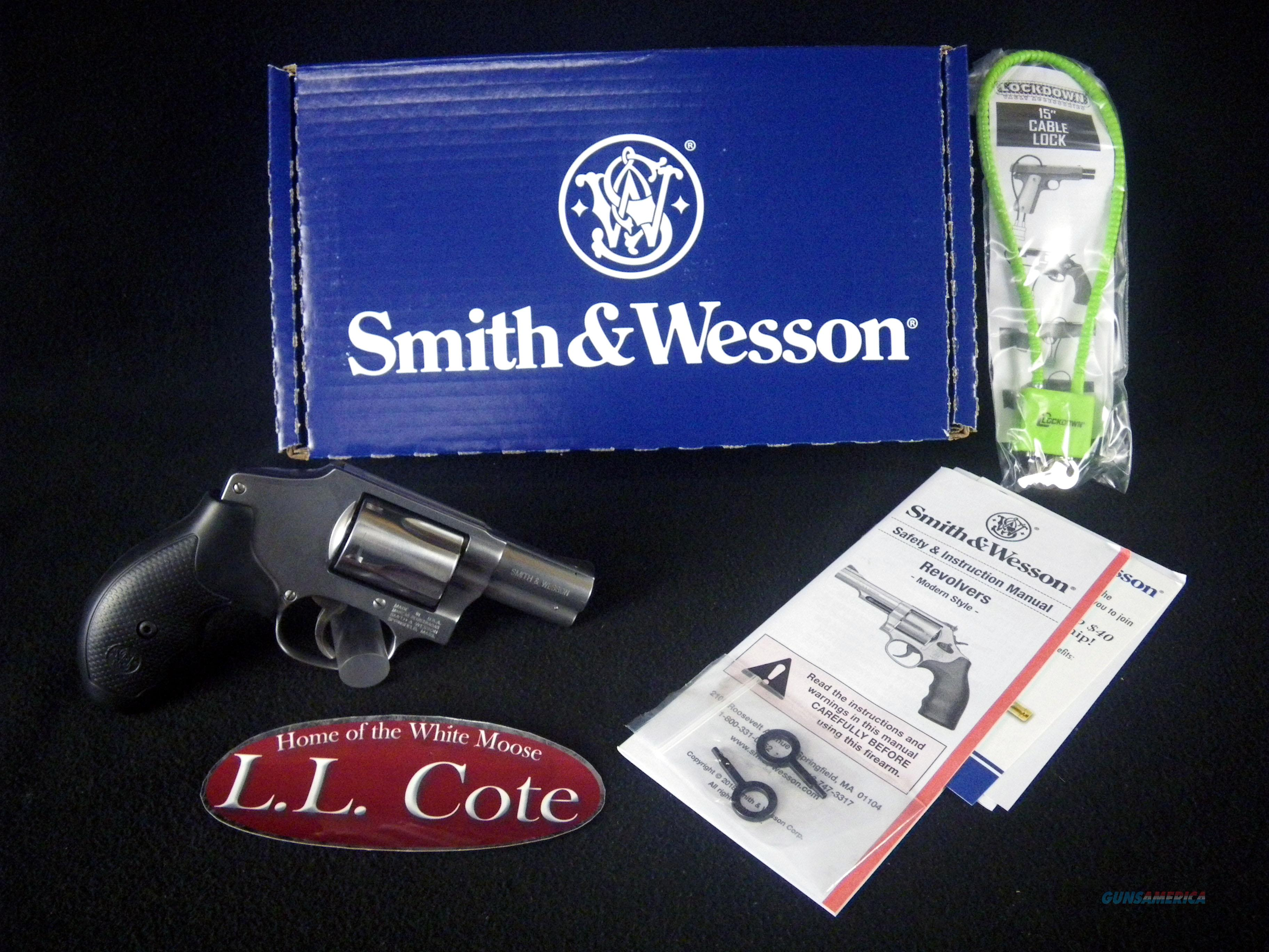 """Smith & Wesson 640 SS 357mag 2.125"""" NEW 163690  Guns > Pistols > Smith & Wesson Revolvers > Small Frame ( J )"""