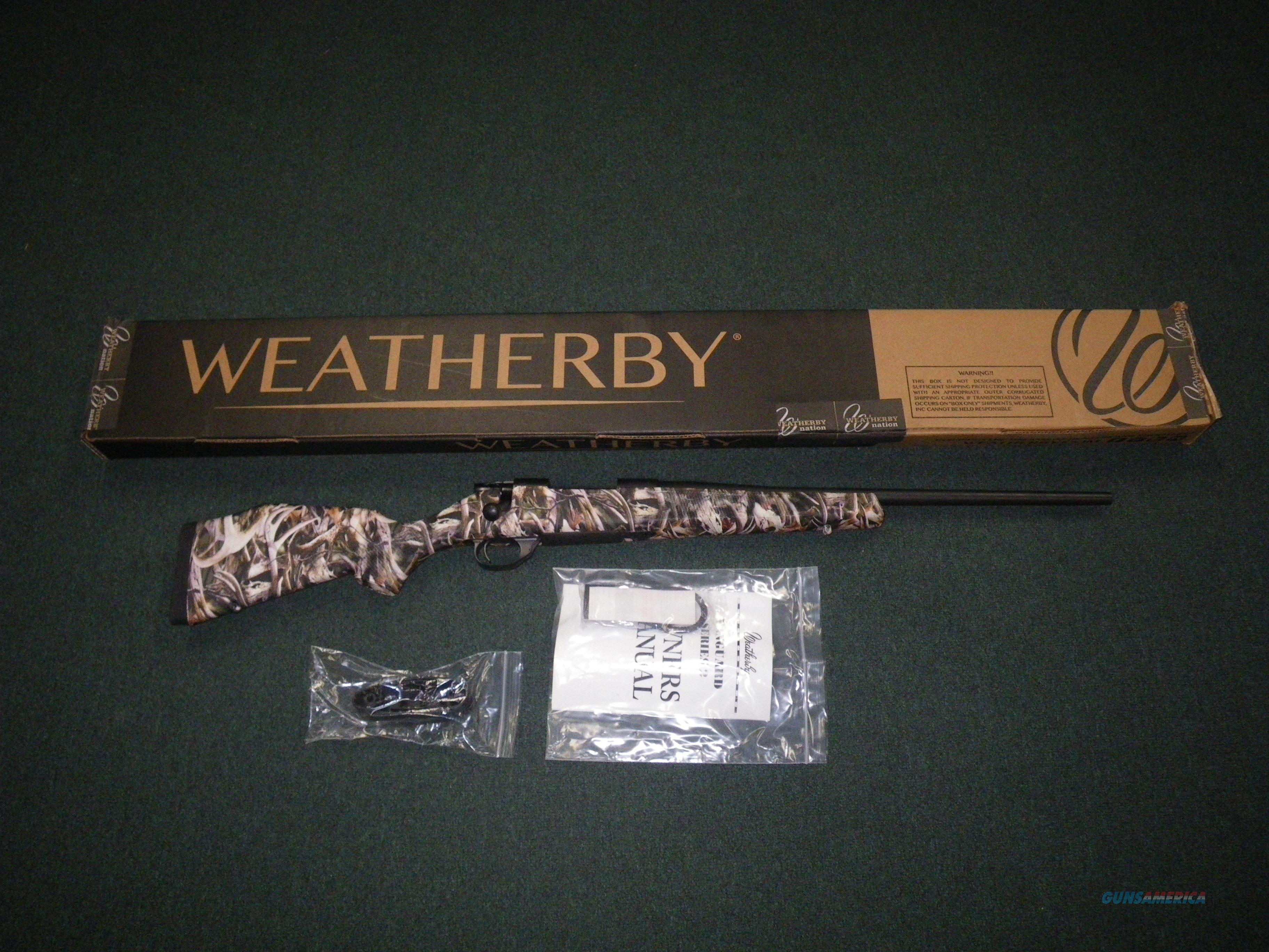 "Weatherby Vanguard Youth Whitetail Bonz 243 Win 20"" VYE243NR0O  Guns > Rifles > Weatherby Rifles > Sporting"