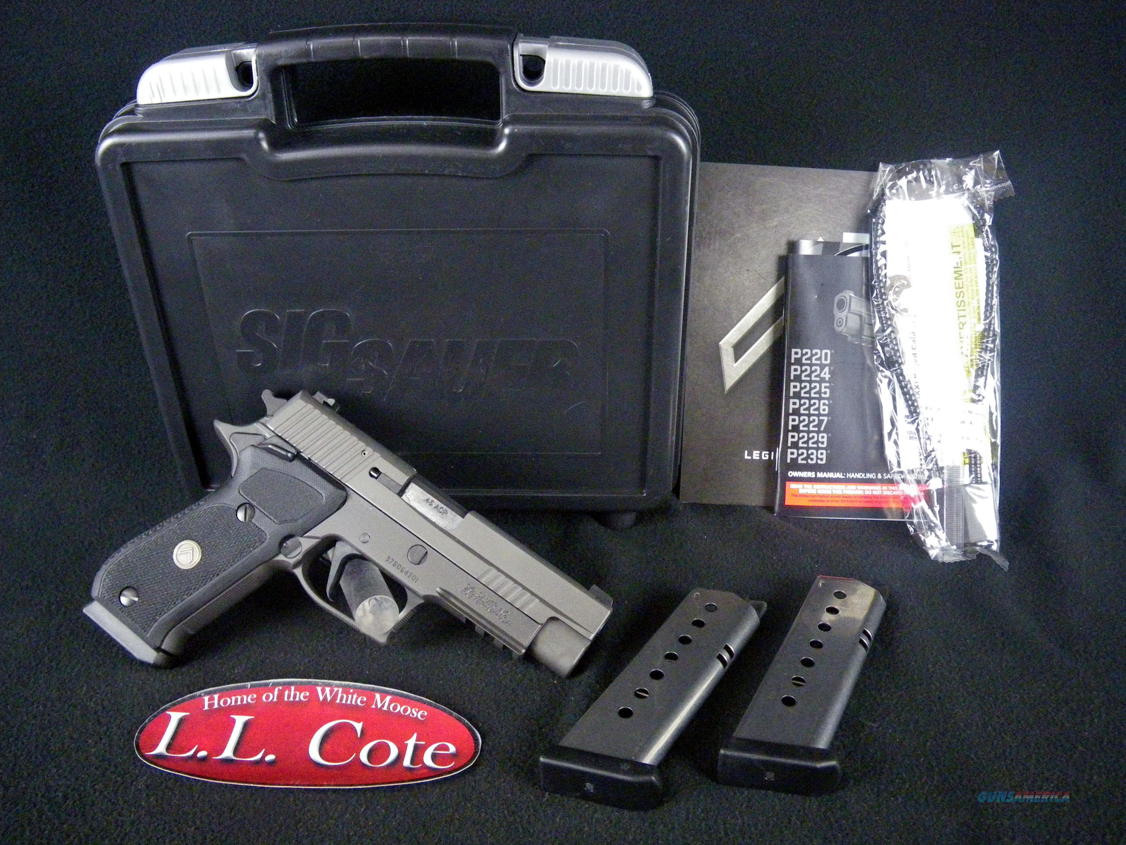 "Sig Sauer P220 Legion 45ACP 4.4"" Night Sights NEW 220R-45-LEGION  Guns > Pistols > Sig - Sauer/Sigarms Pistols > P220"