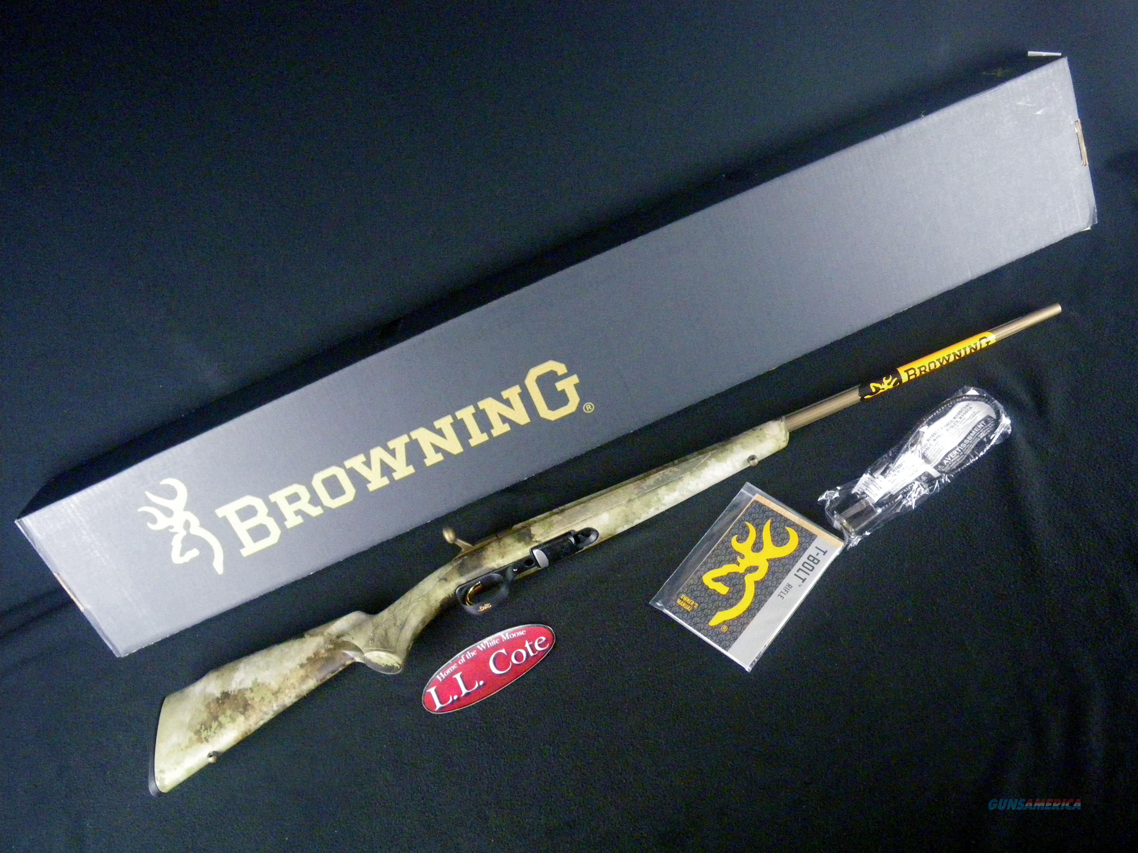 "Browning T-Bolt Speed 17HMR 22"" NEW 025243270  Guns > Rifles > Browning Rifles > Bolt Action > Hunting > Blue"