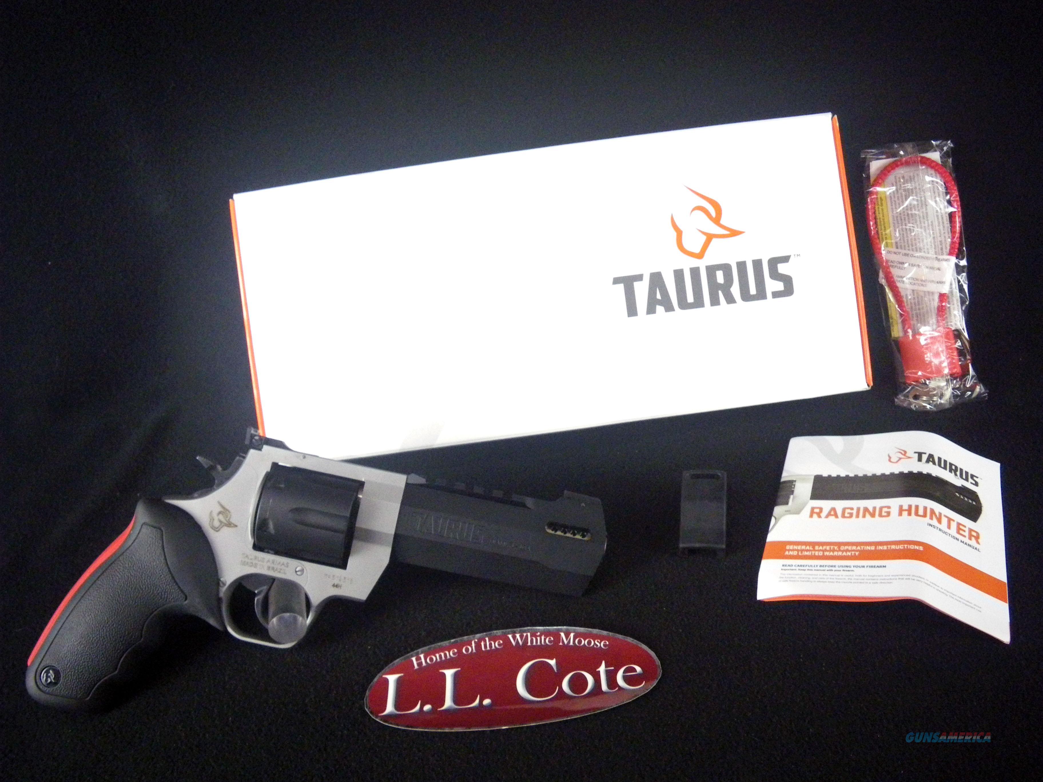 """Taurus Raging Hunter 44 Mag 5.1"""" NEW 2-440055RH  Guns > Pistols > Taurus Pistols > Revolvers"""