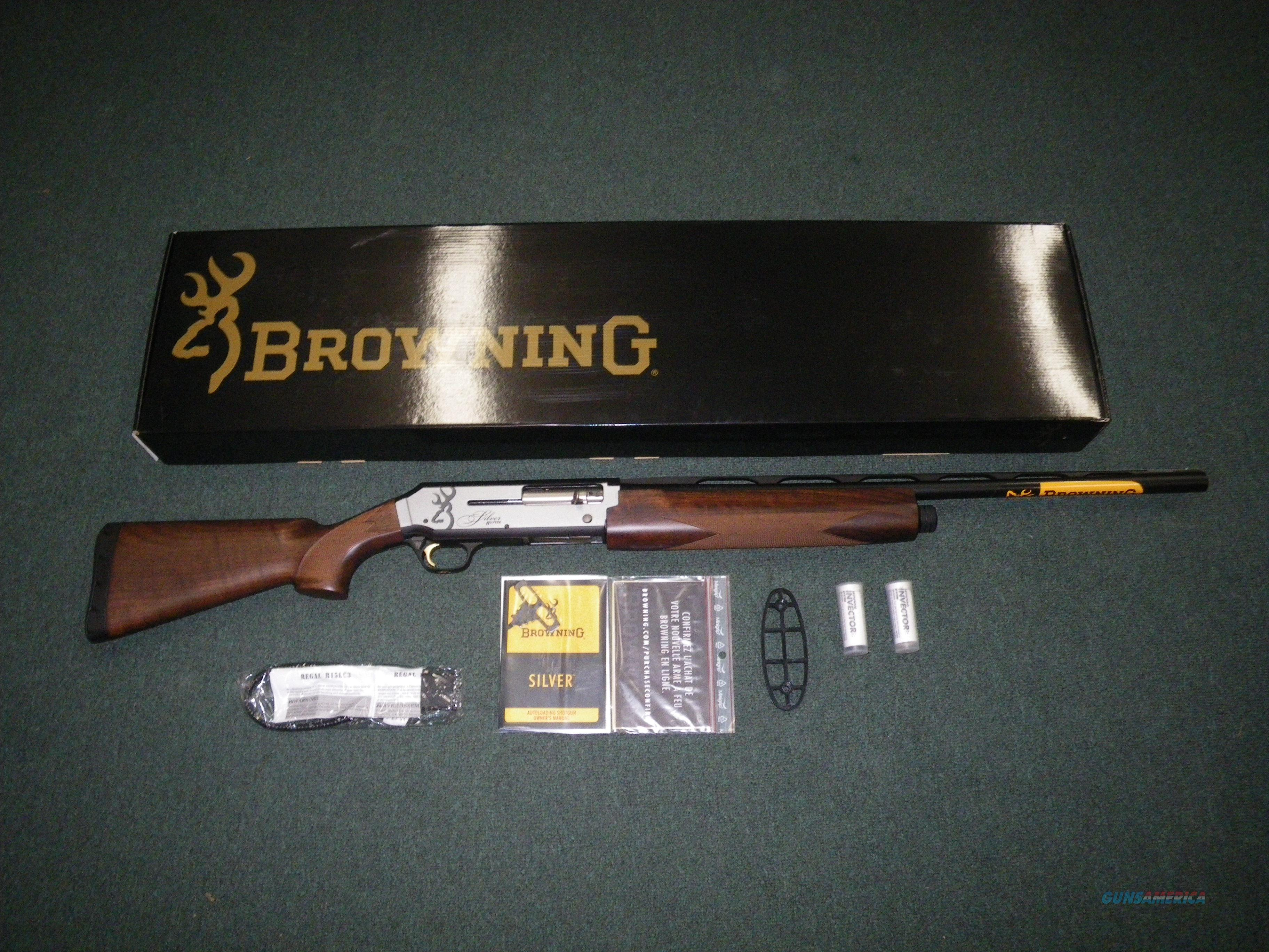 "Browning Silver Hunter Micro Midas 12ga 24"" NEW 3"" #011412306  Guns > Shotguns > Browning Shotguns > Autoloaders > Hunting"