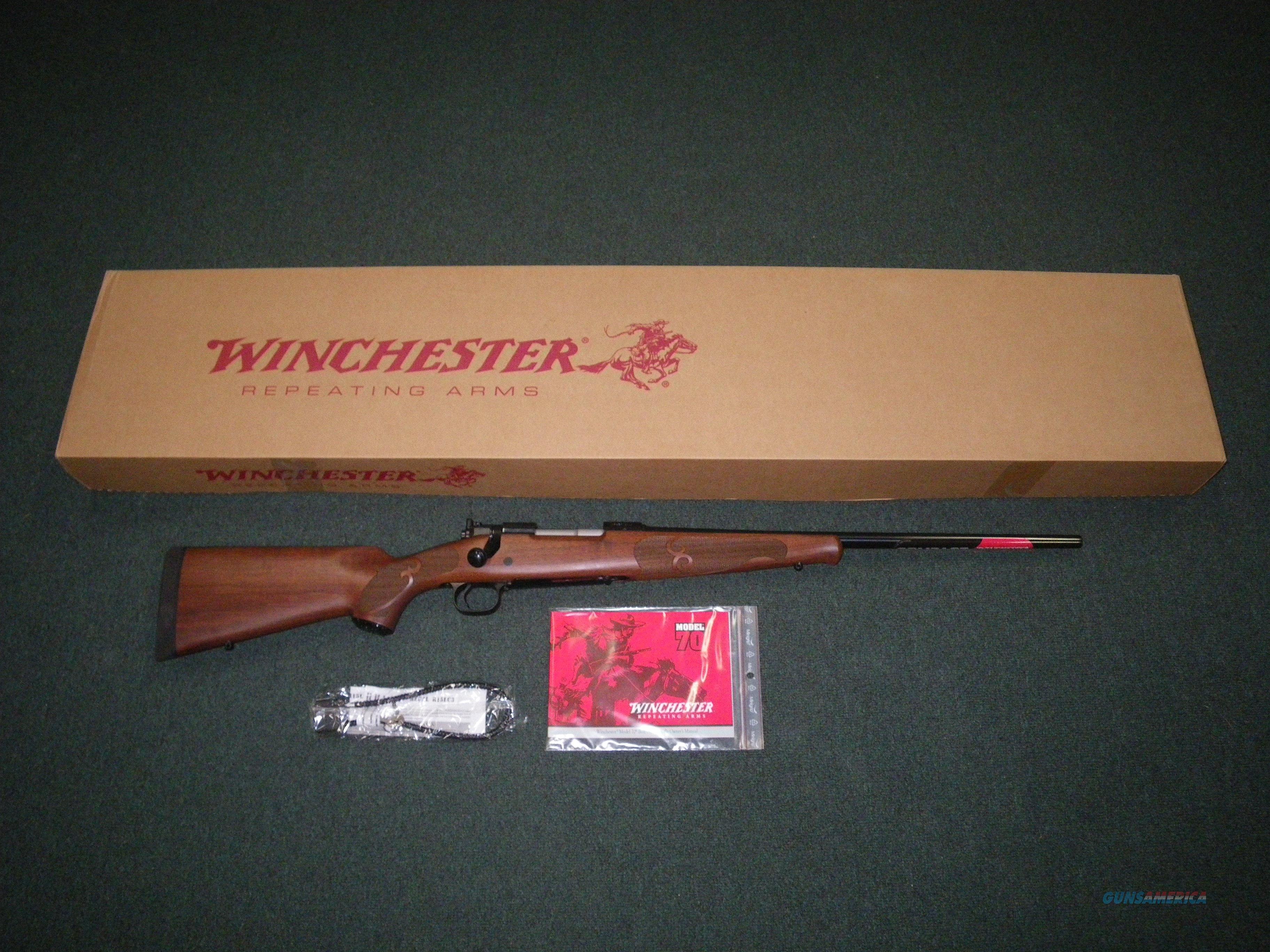 "Winchester Model 70 Fthrwt Compact 308 Win 20"" NEW #535201220  Guns > Rifles > Winchester Rifles - Modern Bolt/Auto/Single > Model 70 > Post-64"