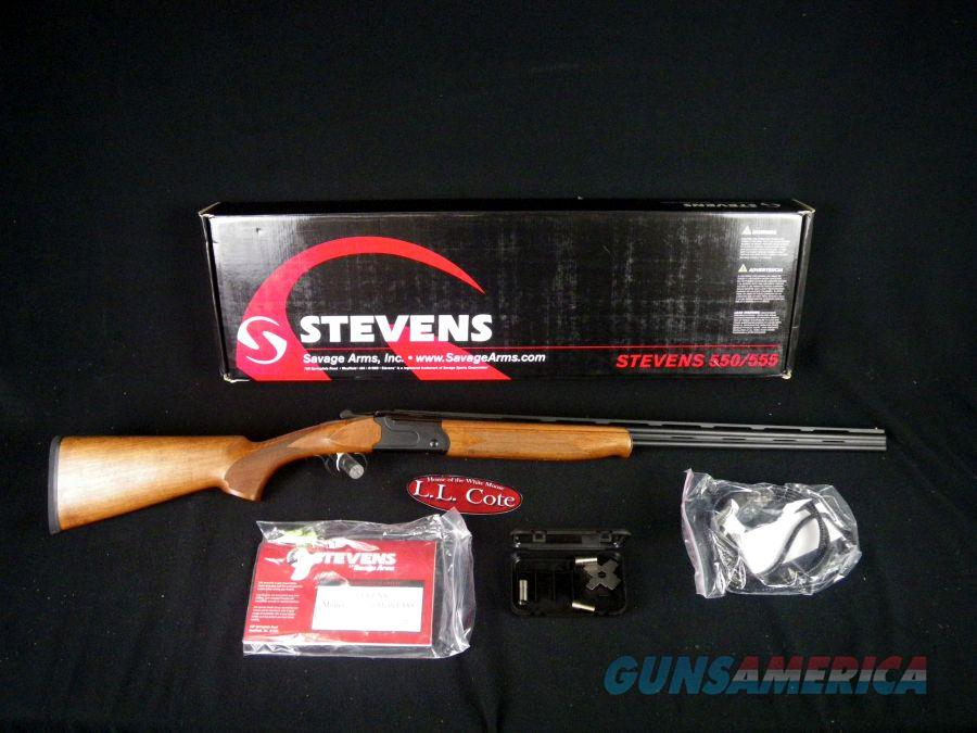 "Stevens 555 Over/Under 410ga 26"" NEW 3"" 22168  Guns > Shotguns > Stevens Shotguns"