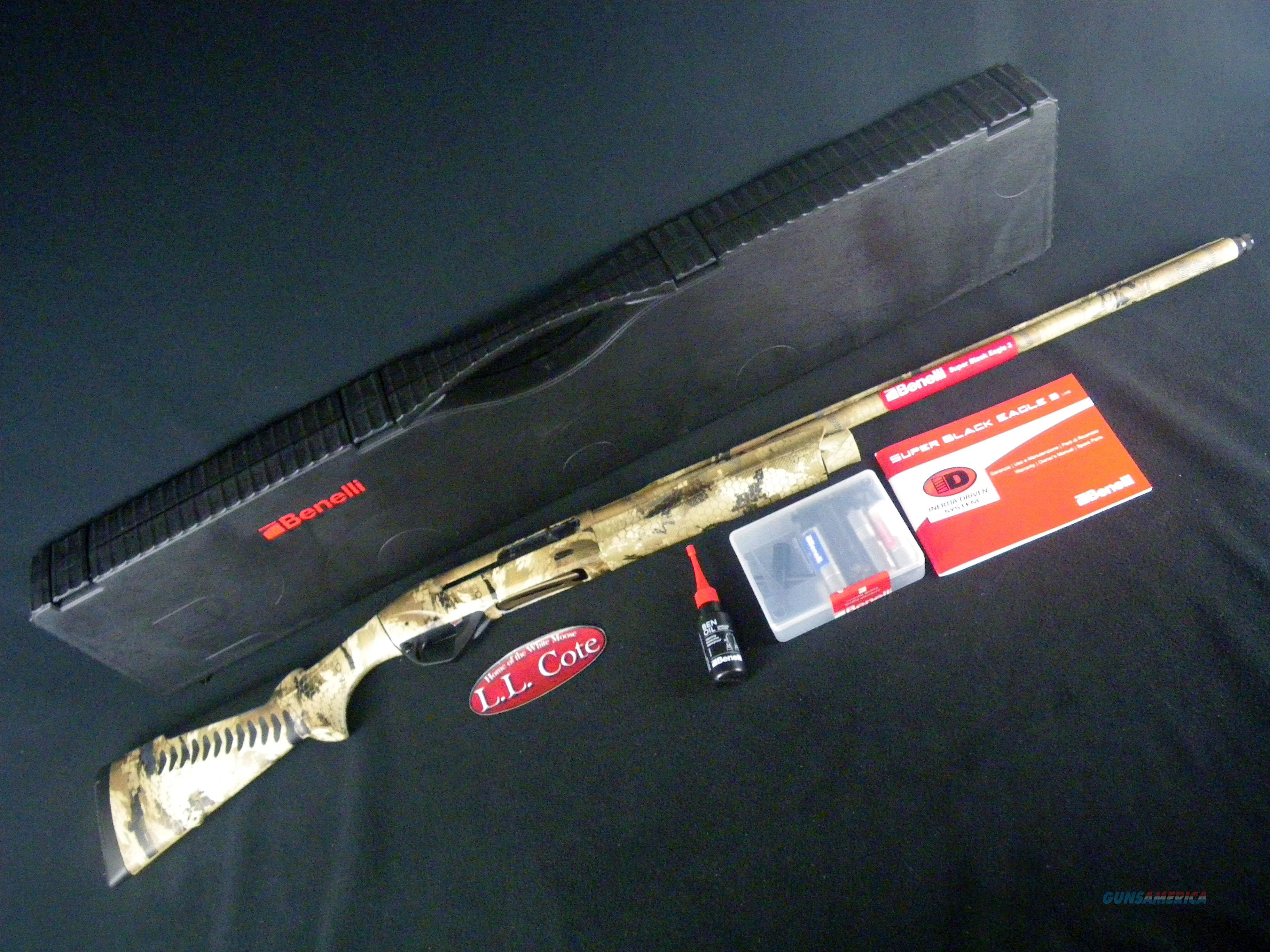 """Benelli Super Black Eagle 3 12ga 28"""" NEW Optifade 10385  Guns > Shotguns > Benelli Shotguns > Sporting"""