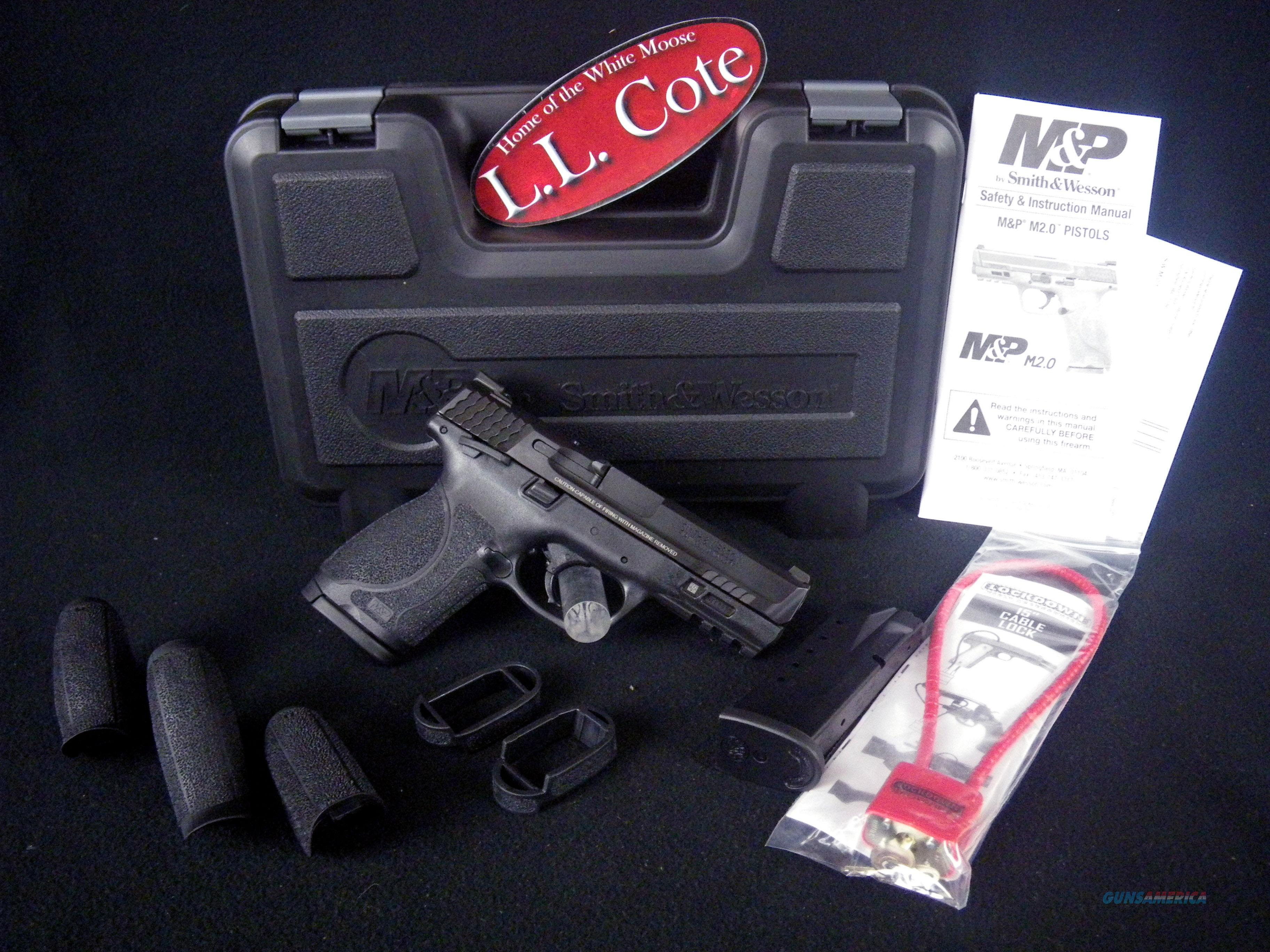 """Smith & Wesson M&P40 M2.0 Compact 40S&W 4"""" NEW 11687  Guns > Pistols > Smith & Wesson Pistols - Autos > Steel Frame"""